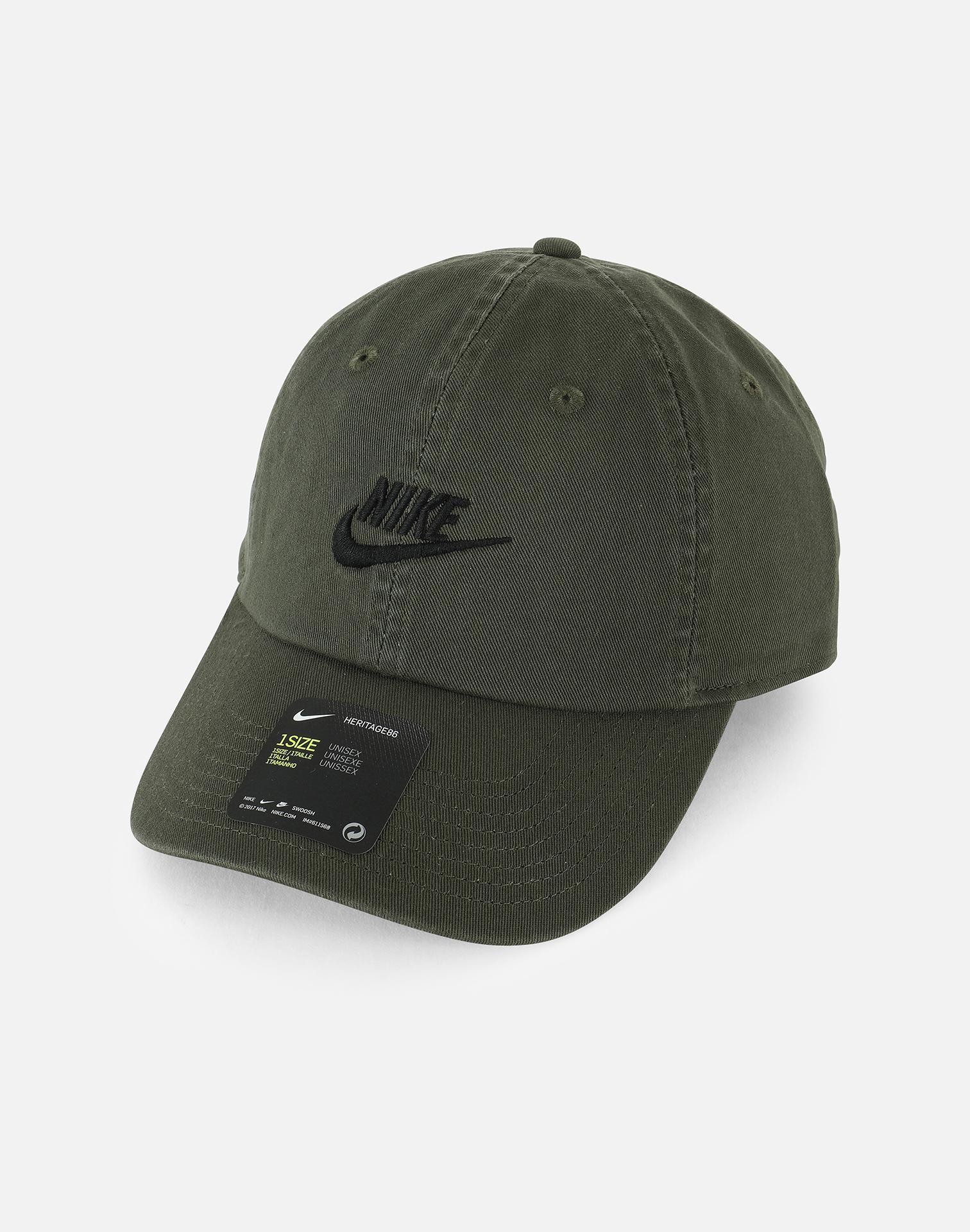a1aa4f96584 ... inexpensive nike. mens green nsw h86 futura cap 52120 d2a87