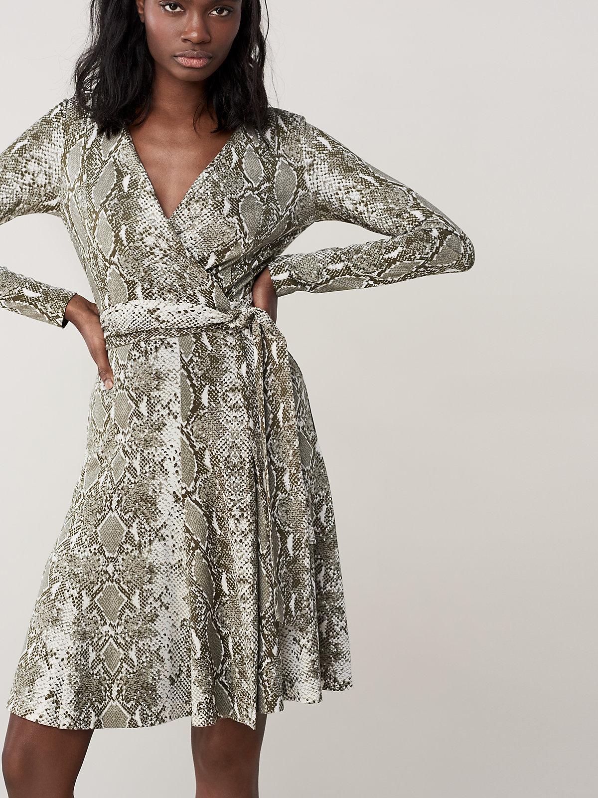 fd607ecb66 Lyst - Diane von Furstenberg Elowen Silk-jersey Wrap Dress