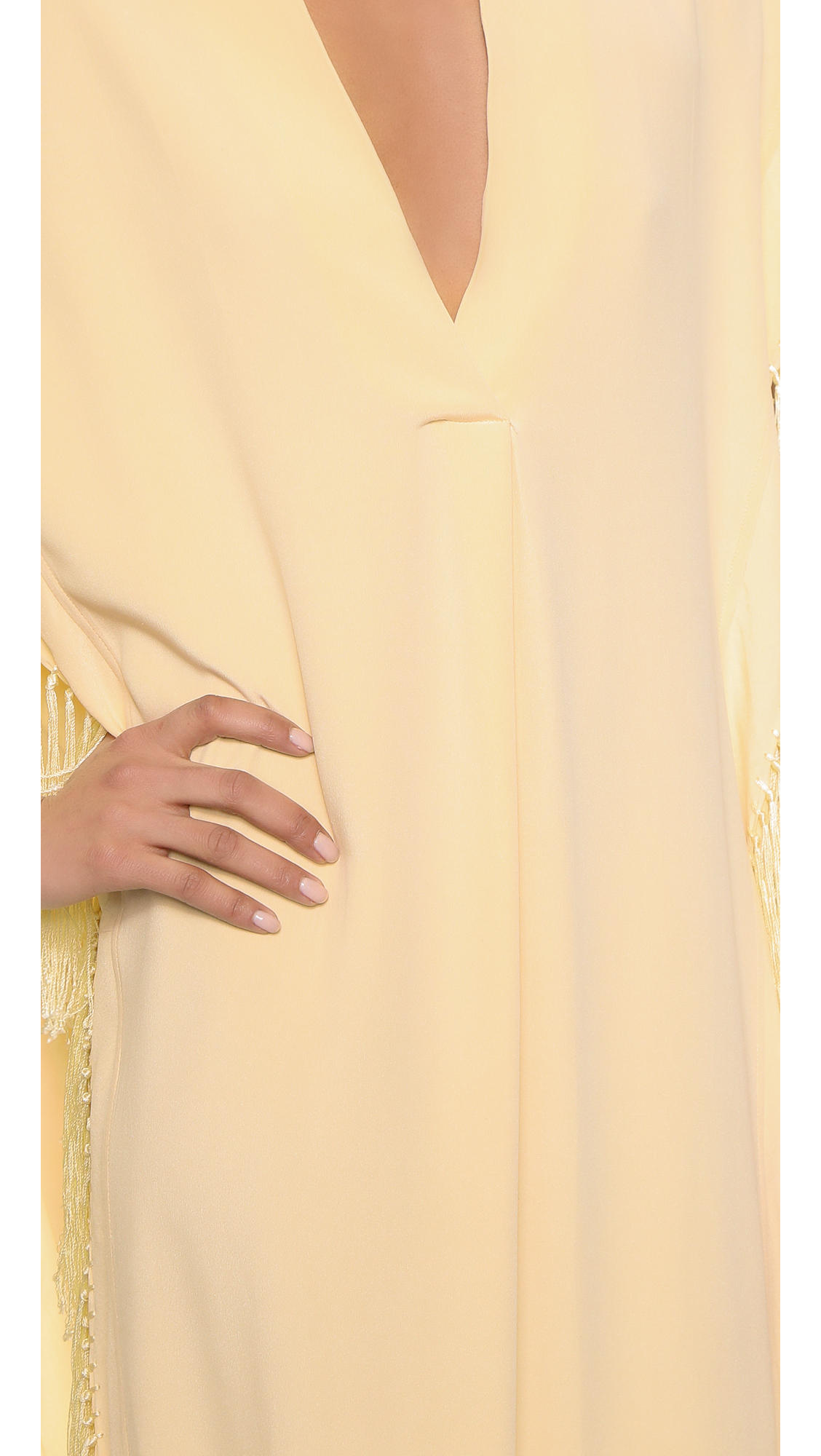 Tallulah fringed maxi dress