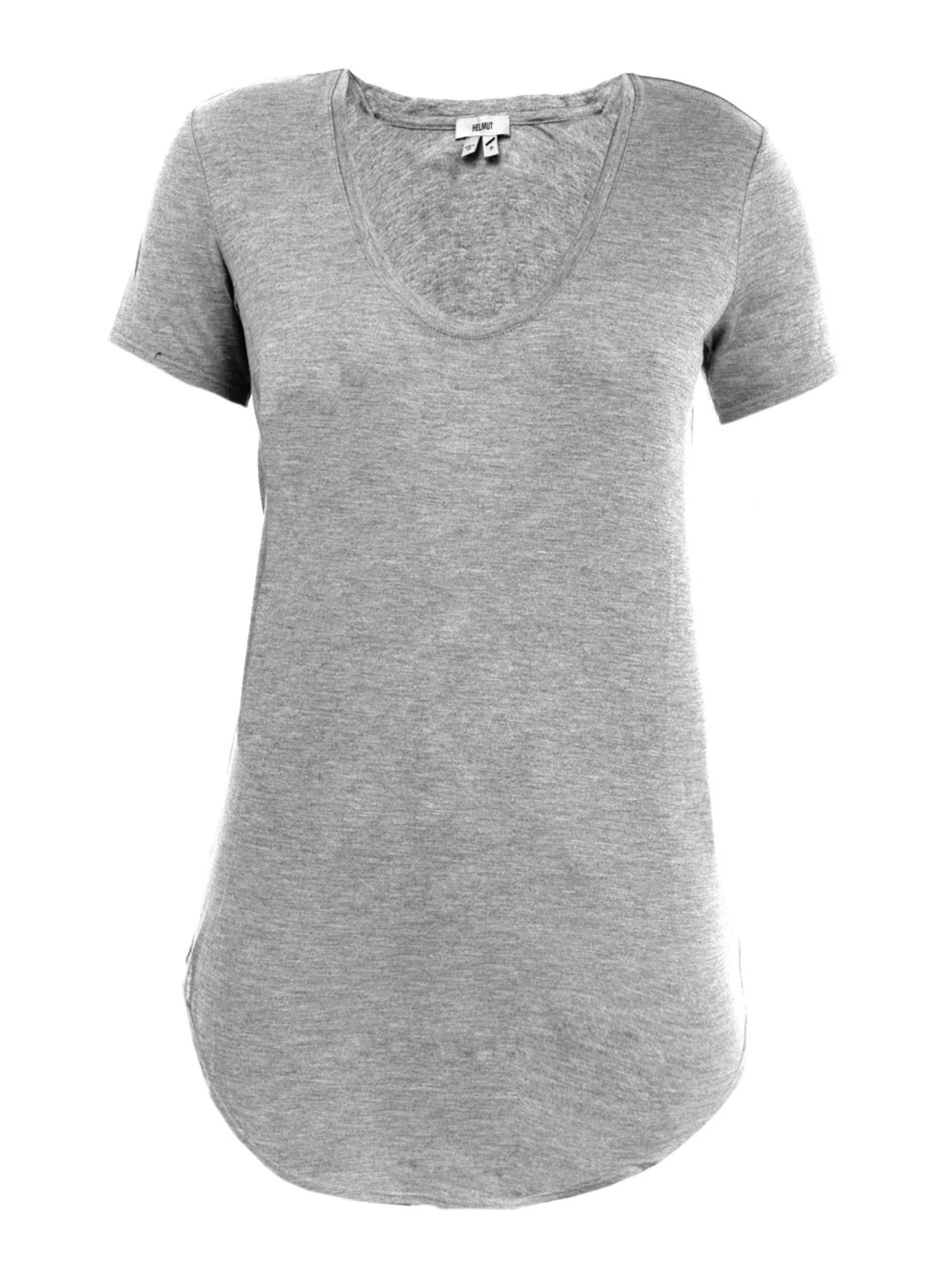 lyst helmut lang kinetic jersey t shirt in gray. Black Bedroom Furniture Sets. Home Design Ideas