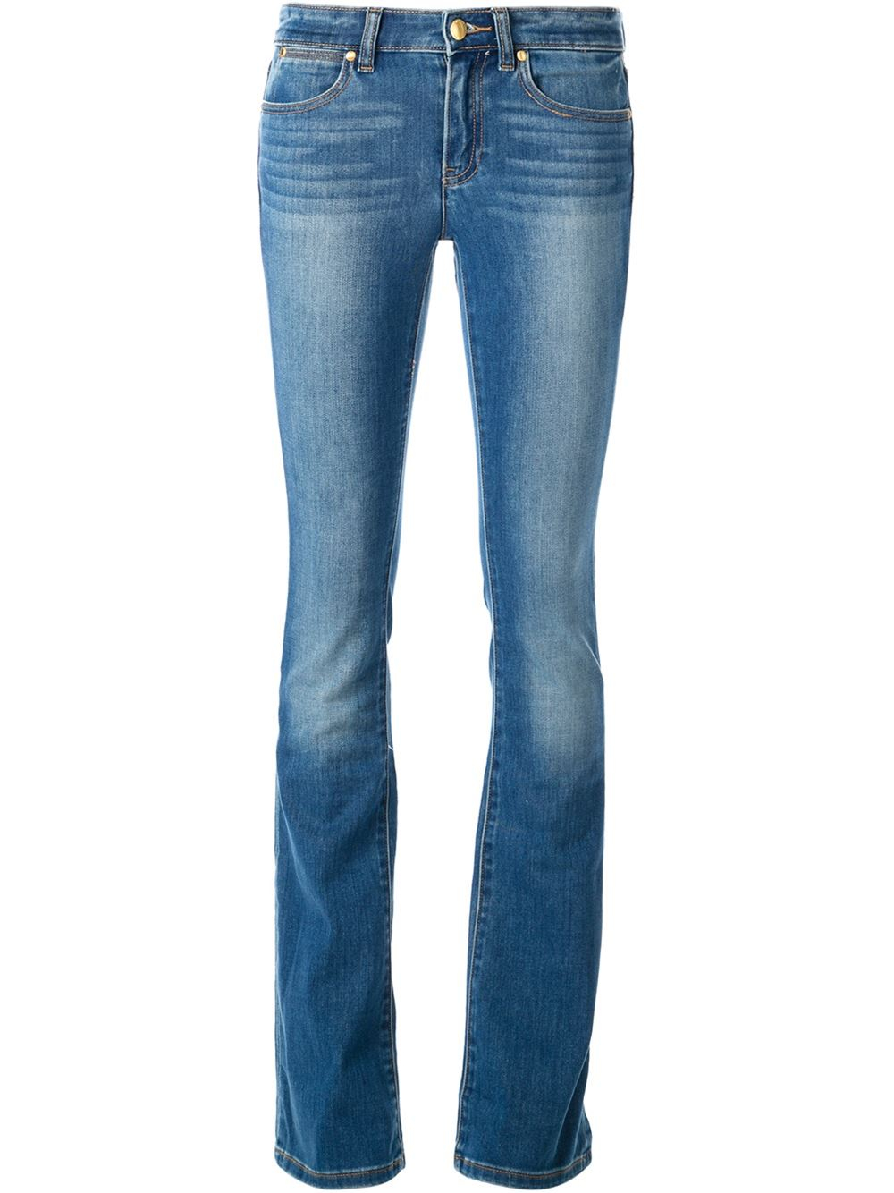 Lyst Michael Michael Kors Bootcut Jeans In Blue
