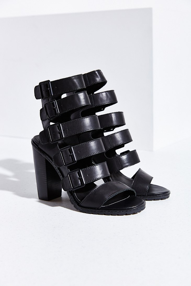 Lyst Kelsi Dagger Brooklyn Lupita Heeled Sandal In Black