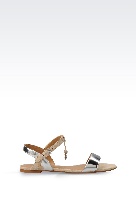 Armani Slingback flat sandals zQK42G