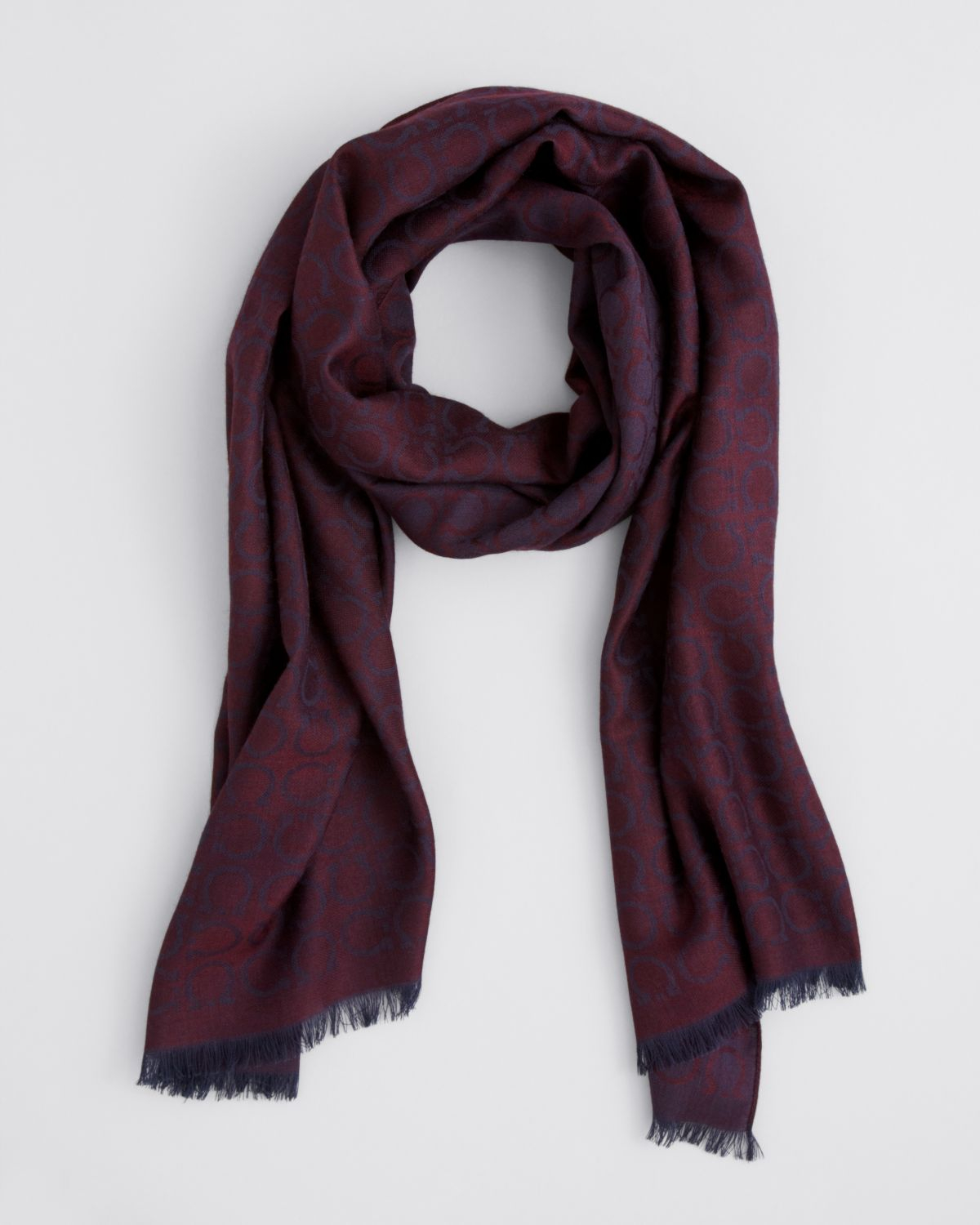 ferragamo gancini scarf in for lyst
