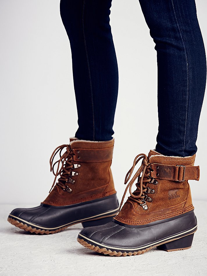 Free people Sorel Womens Winter Fancy Weather Boot in ...