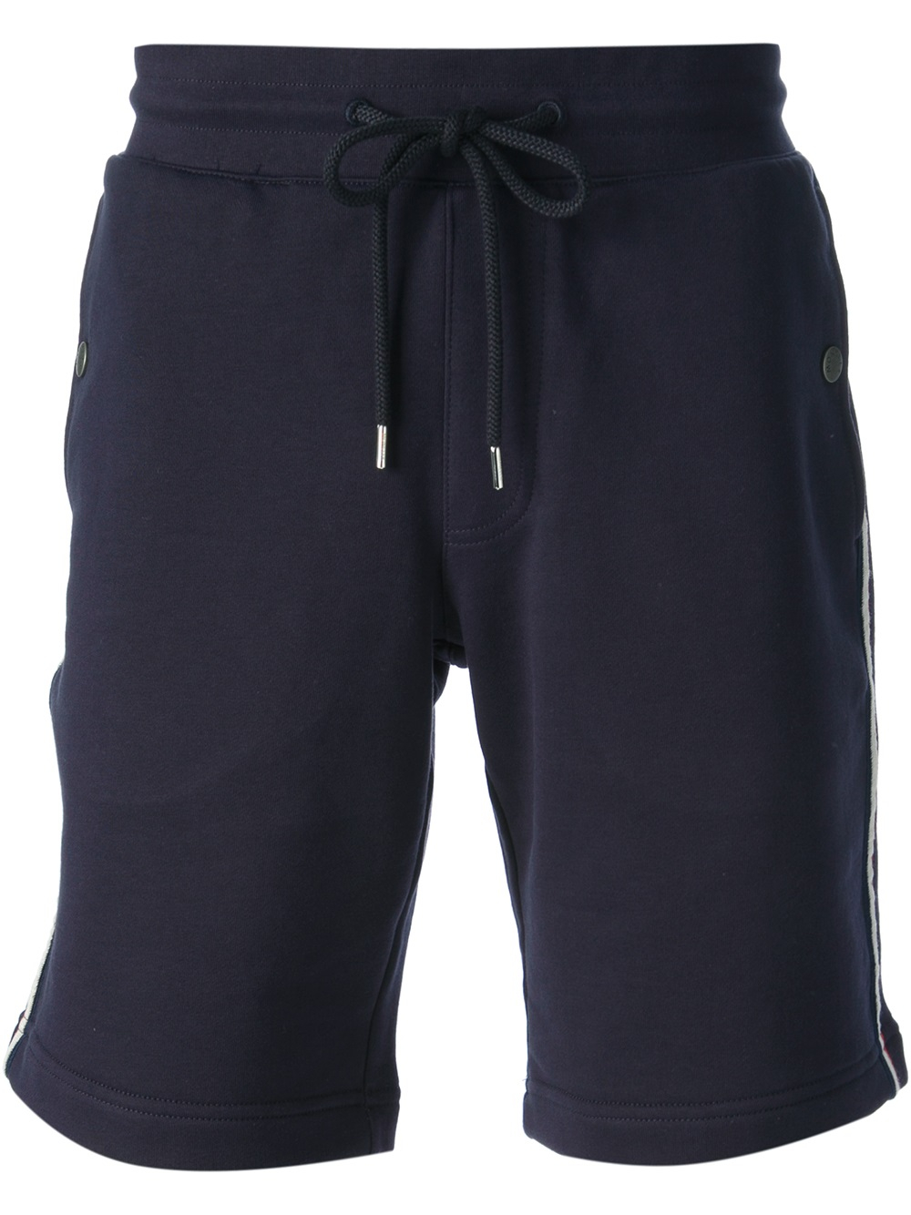 84154f236b15 Lyst - Moncler Track Shorts in Blue for Men
