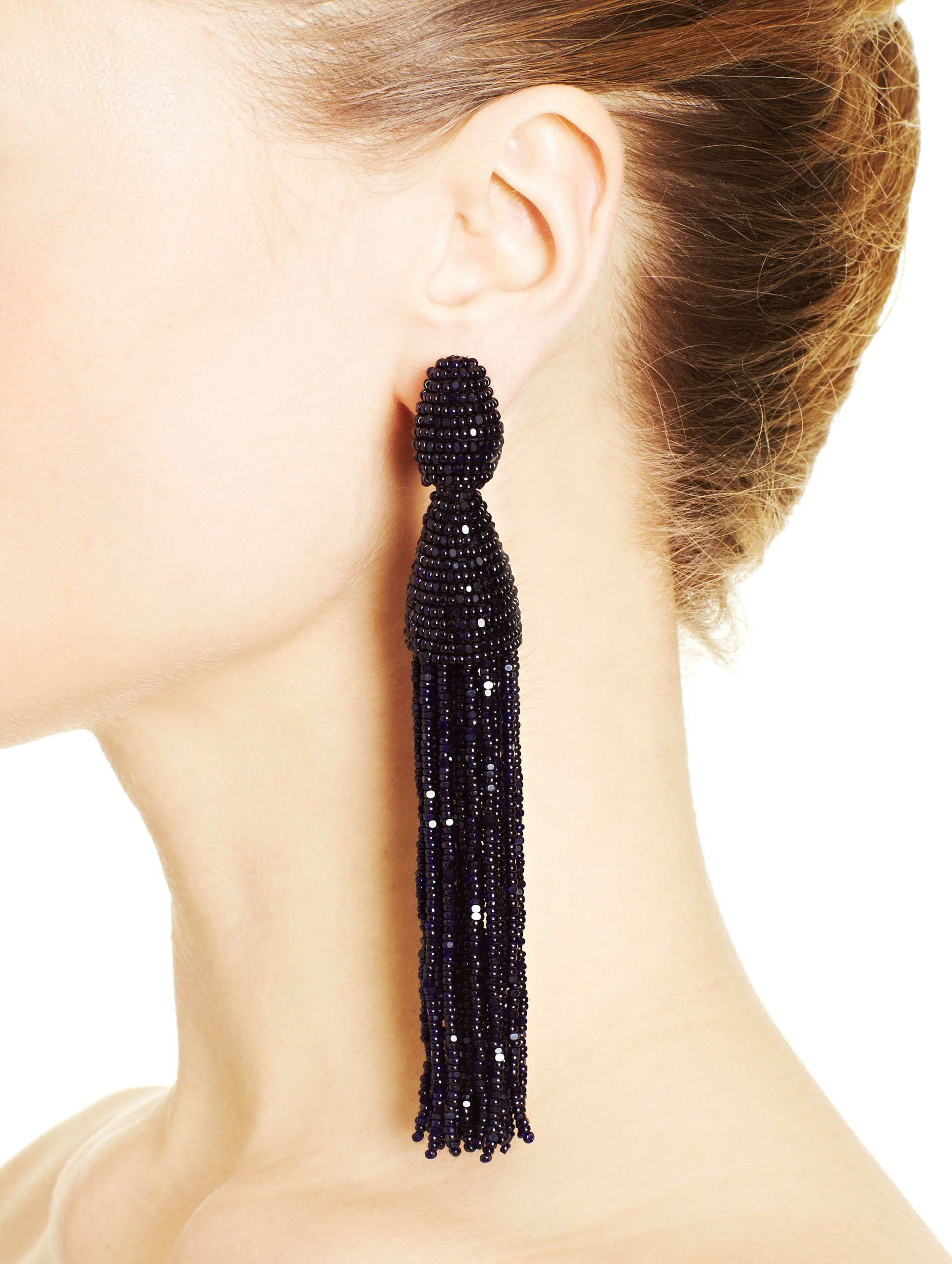 tassel tassle zenzii wholesale we drop long together gry earrings bead
