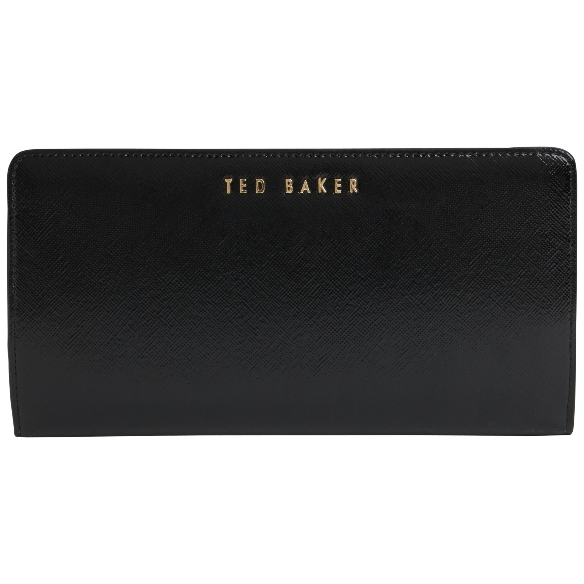 c4fcaa4f38e2 Ted Baker Alaniy Crosshatch Matinee Purse in Black - Lyst
