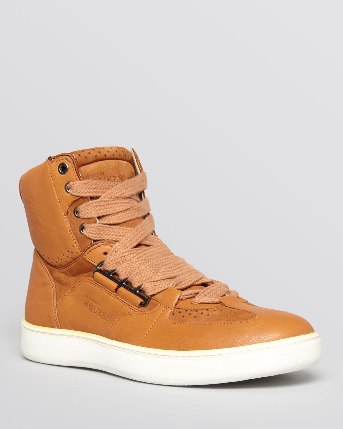 Lyst - PUMA Alexander Mcqueen Joust Mid Iv Sneakers in Brown for Men 8313b7f85