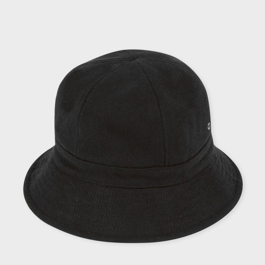 762ffc4c0c913 ... inexpensive paul smith mens black wool bucket hat in black for men lyst  f9a9d f7df2