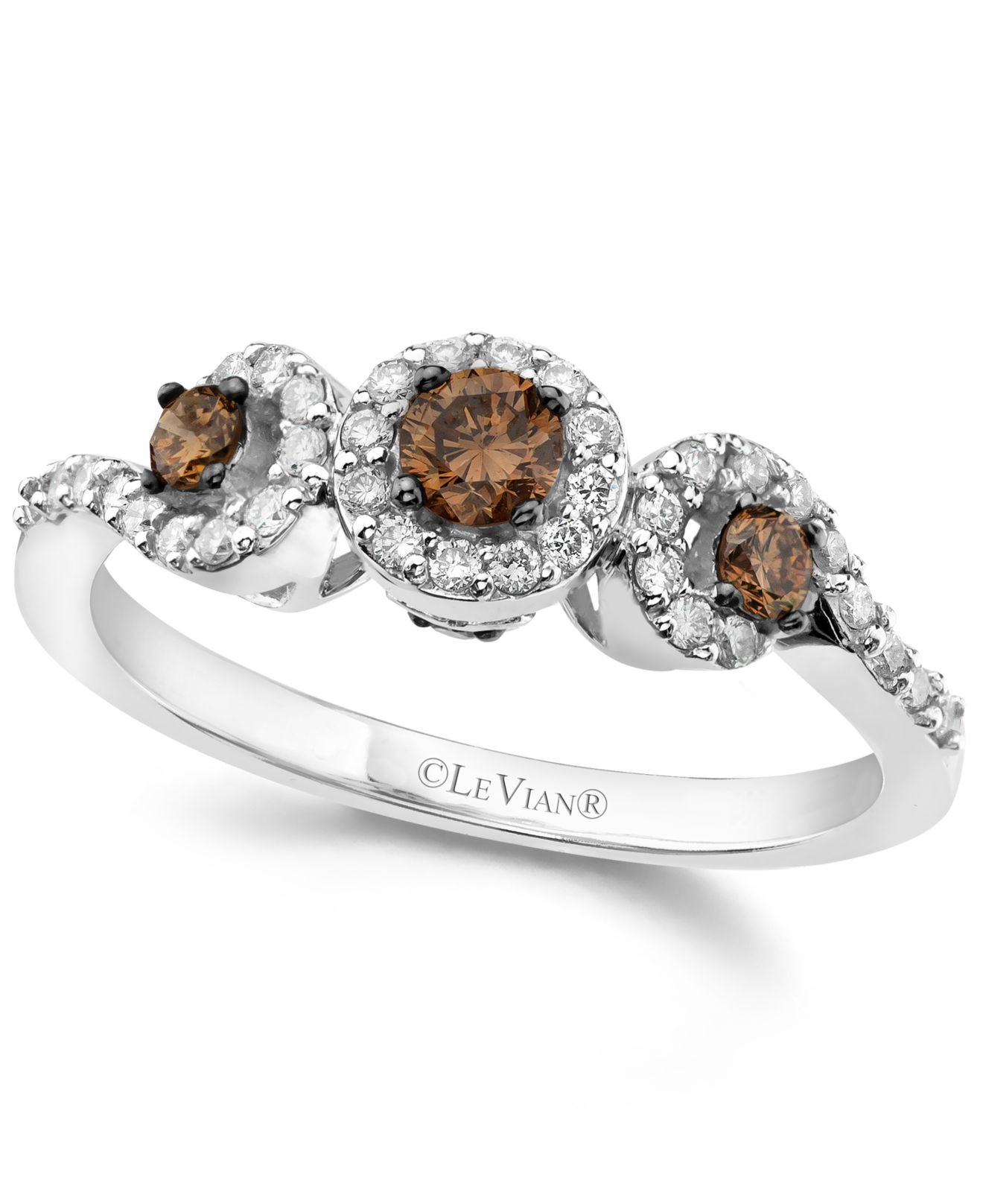 c66fe5184cbc7f Gallery. Previously sold at: Macy's · Women's Le Vian Chocolate Diamonds ...