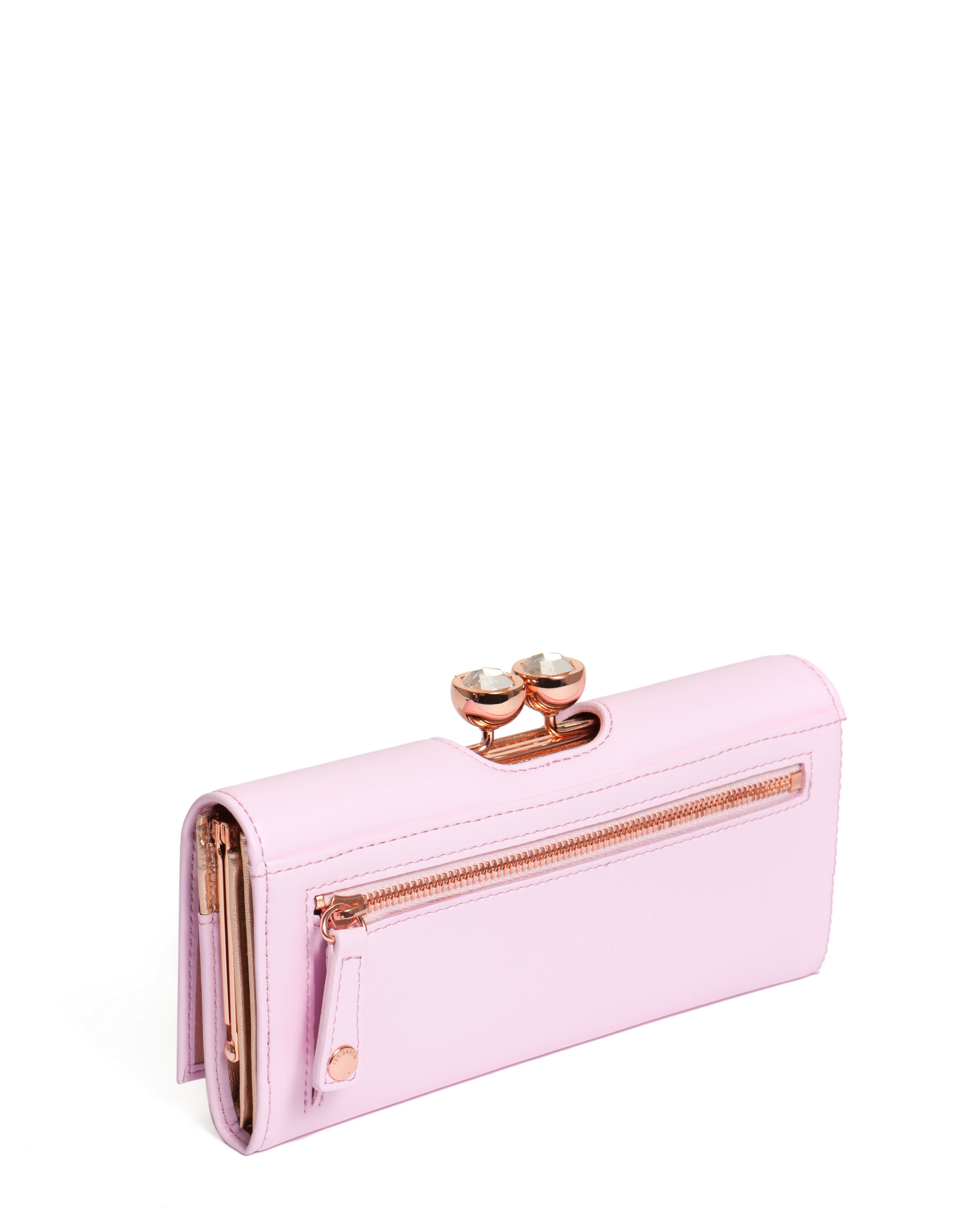 9a6fbf2425e4 Ted Baker Crystal Bobble Matinee Purse Best Image Ccdbb. Gallery. Lyst Ted  Baker Leather Crystal Bobble Matinee Purse In Pink