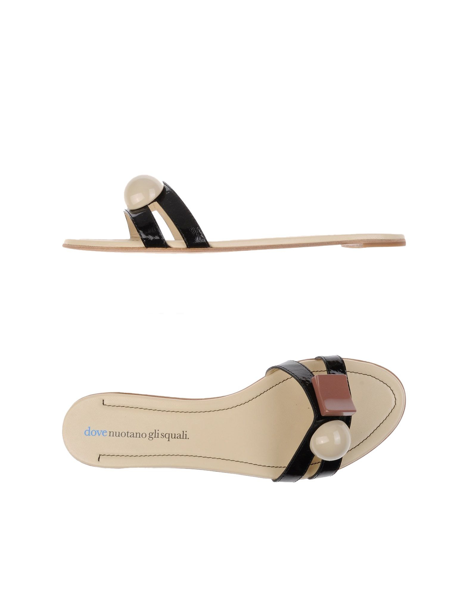 FOOTWEAR - Sandals Dove Nuotano Gli Squali From China Prices New Arrival For Sale Low Cost Cheap Online Outlet Deals at6GmpSlhw