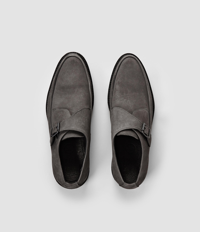 22a6de8bd24 AllSaints Phase Shoe in Gray for Men - Lyst