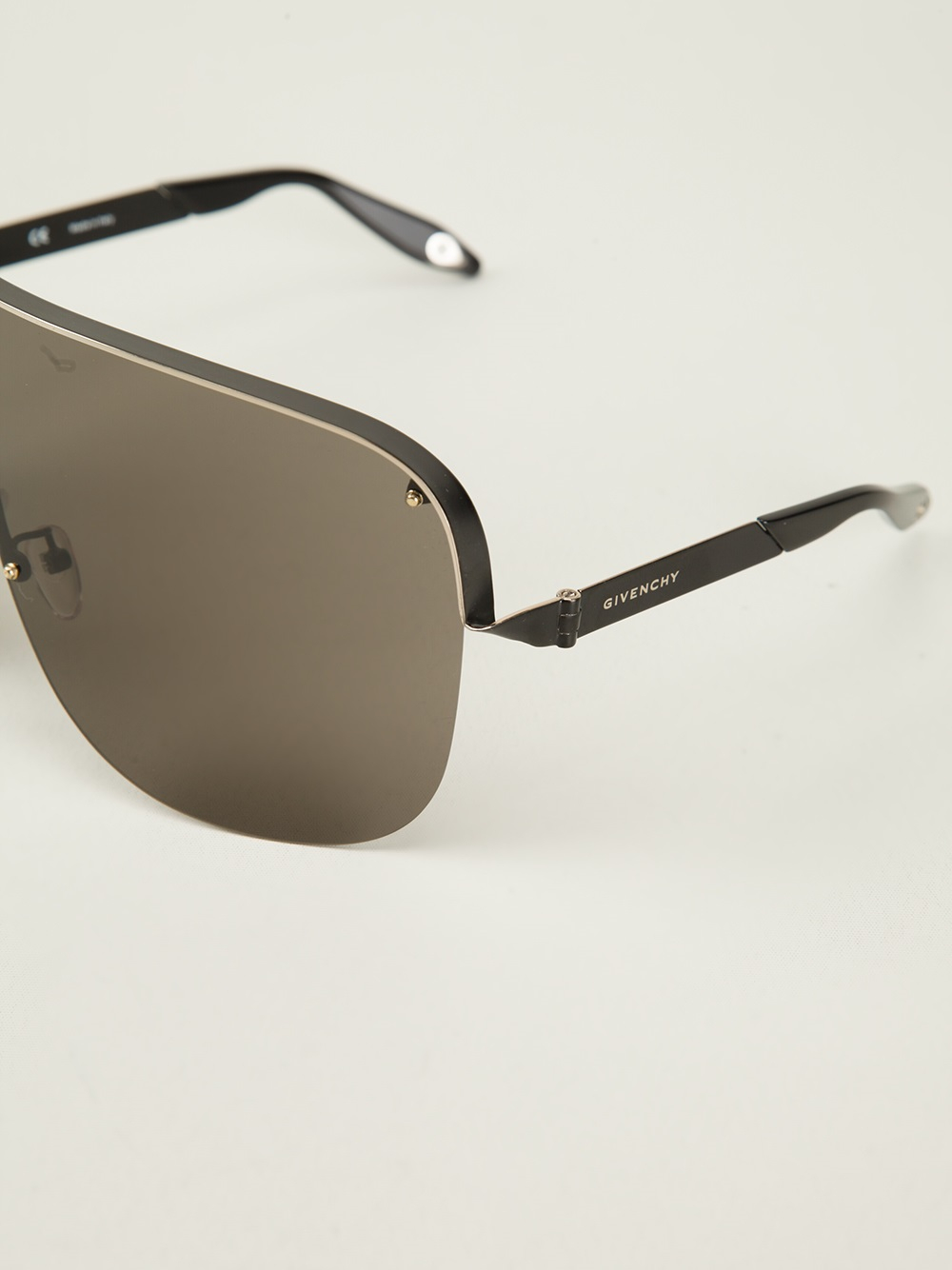 a6b413290b Givenchy Visor Sunglasses in Black - Lyst