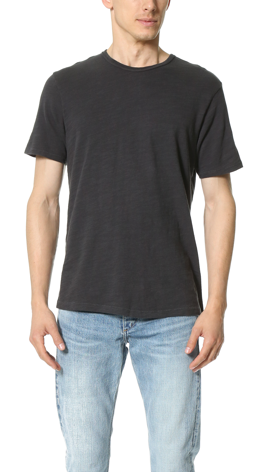 Rag Bone Basic T Shirt In Black For Men Lyst