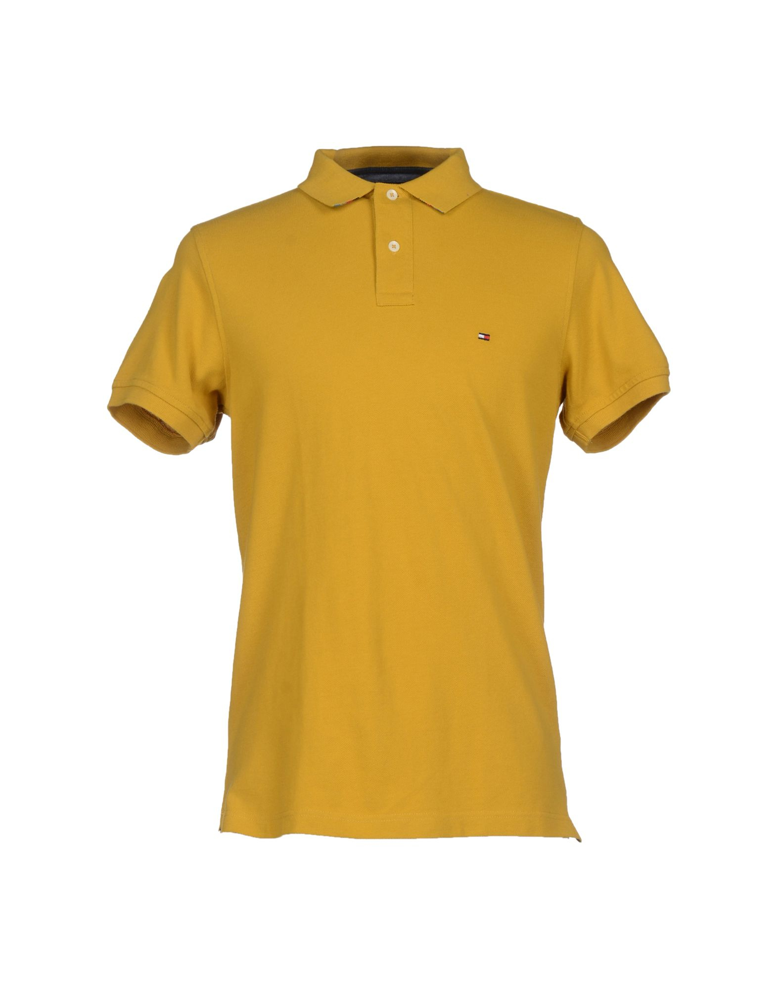 tommy hilfiger polo shirt in orange for men ocher lyst. Black Bedroom Furniture Sets. Home Design Ideas