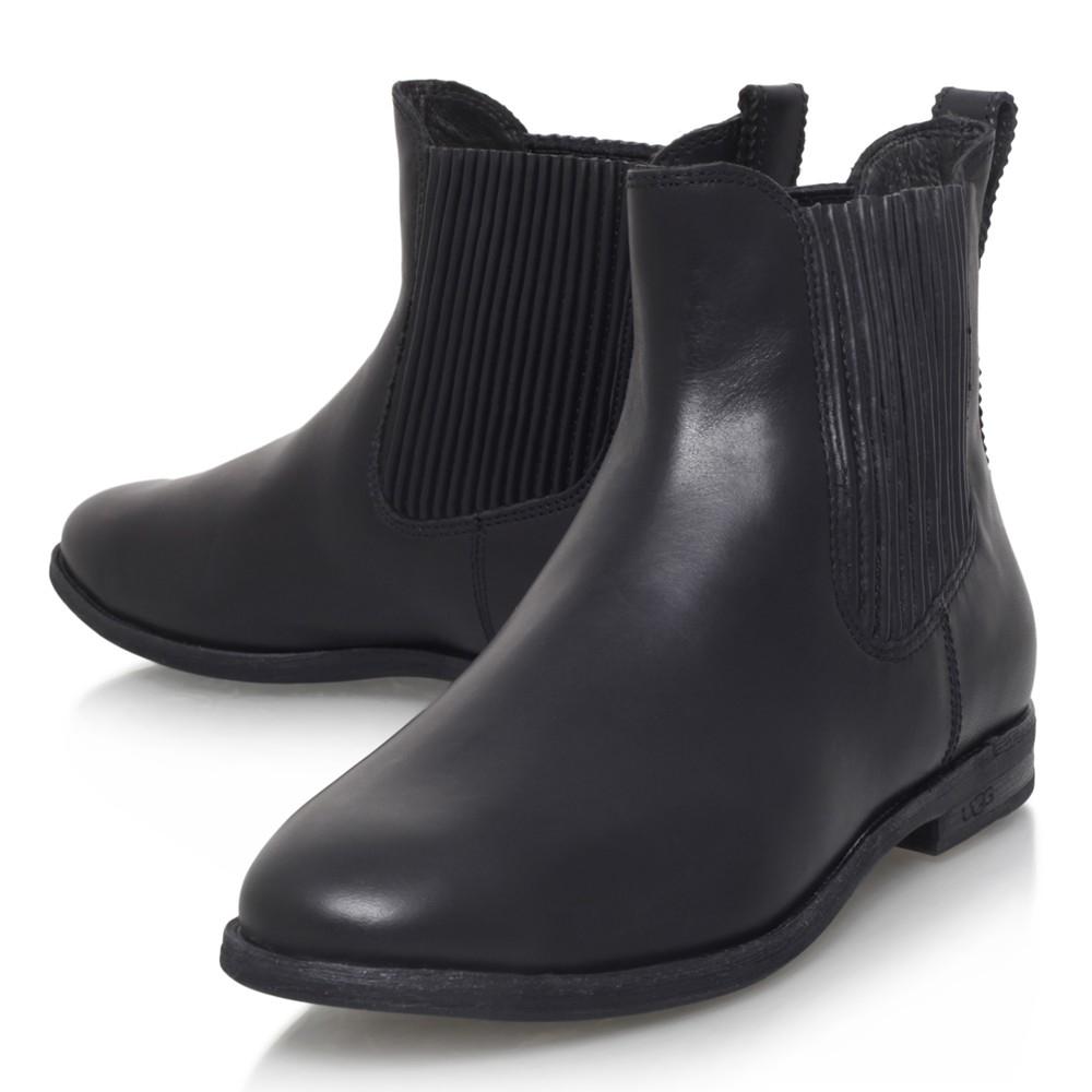 ugg black chelsea boots