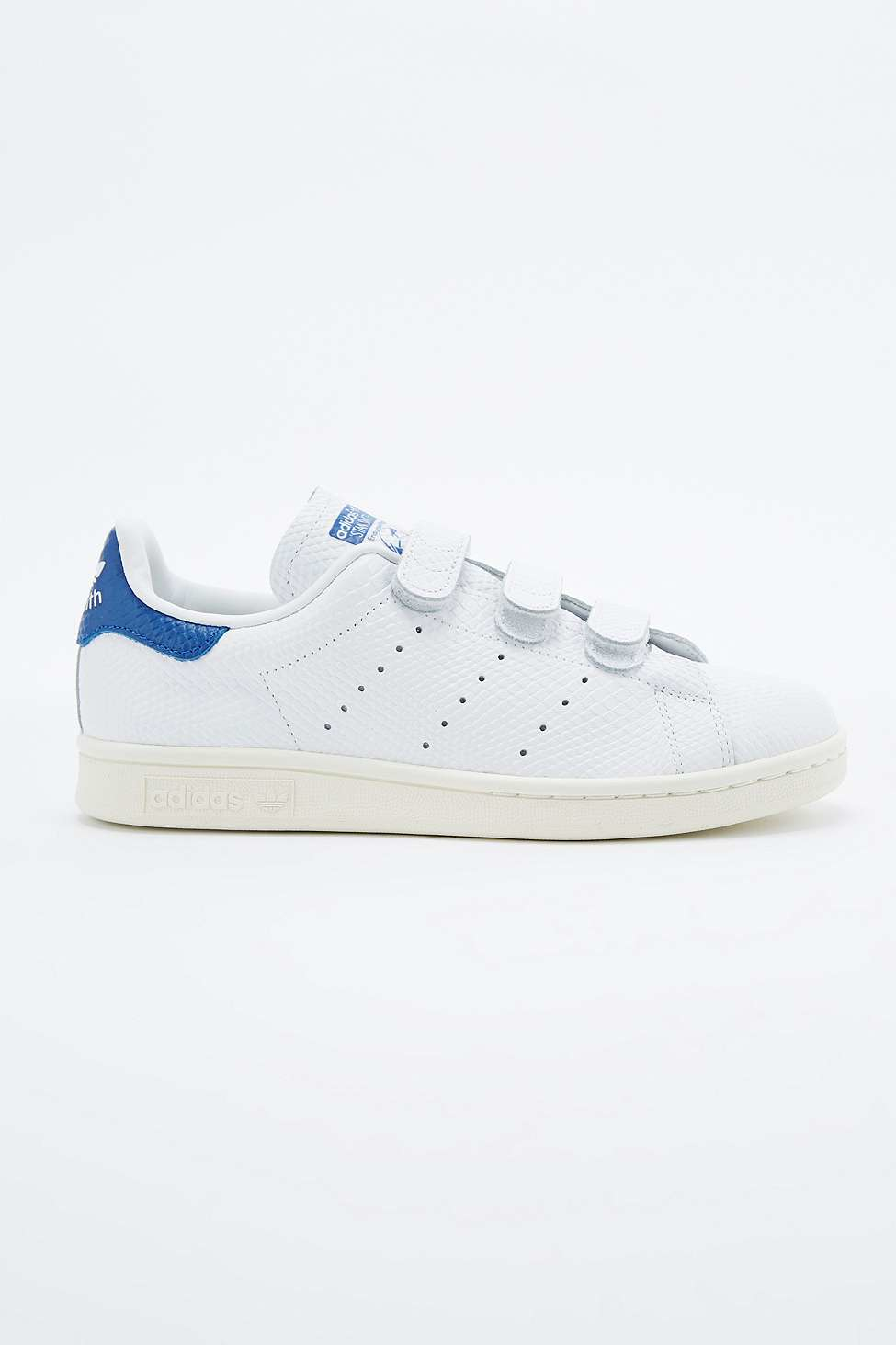 Adidas Stan Smith Blue Velcro