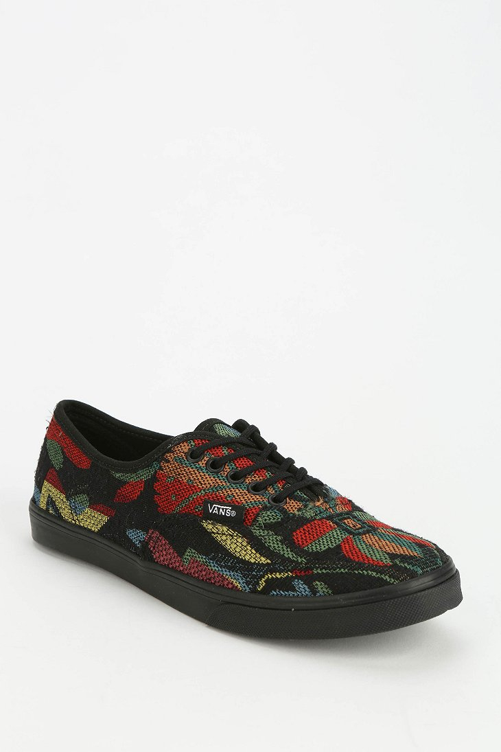 fcb2049e48 Lyst - Vans Authentic Lo Pro Floral Tapestry Womens Lowtop Sneaker