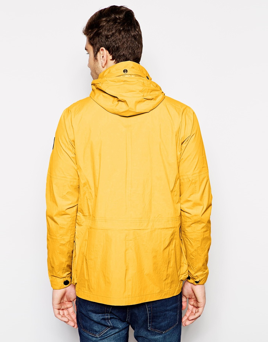Lyst Paul Smith Waterproof Field Jacket In Yellow For Men