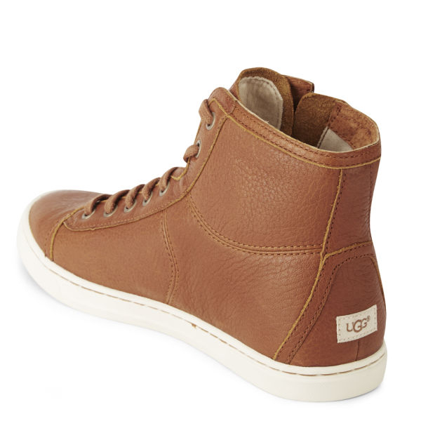 UGG Womens Blaney Leather Hitop Trainers in Brown for Men - Lyst 3afede0e25