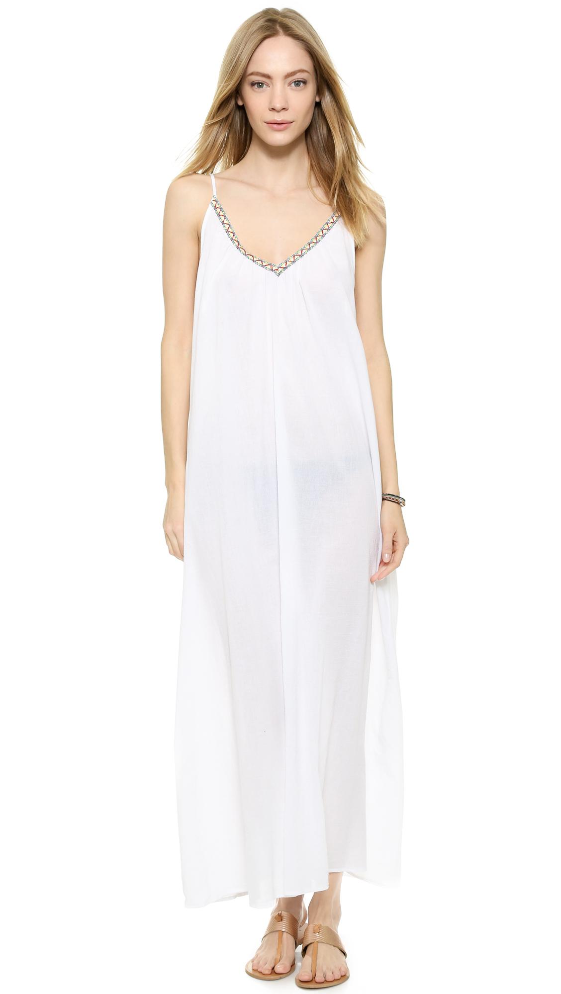 e3f5865153 Lyst - 9seed Portofino Cover Up Dress in Black