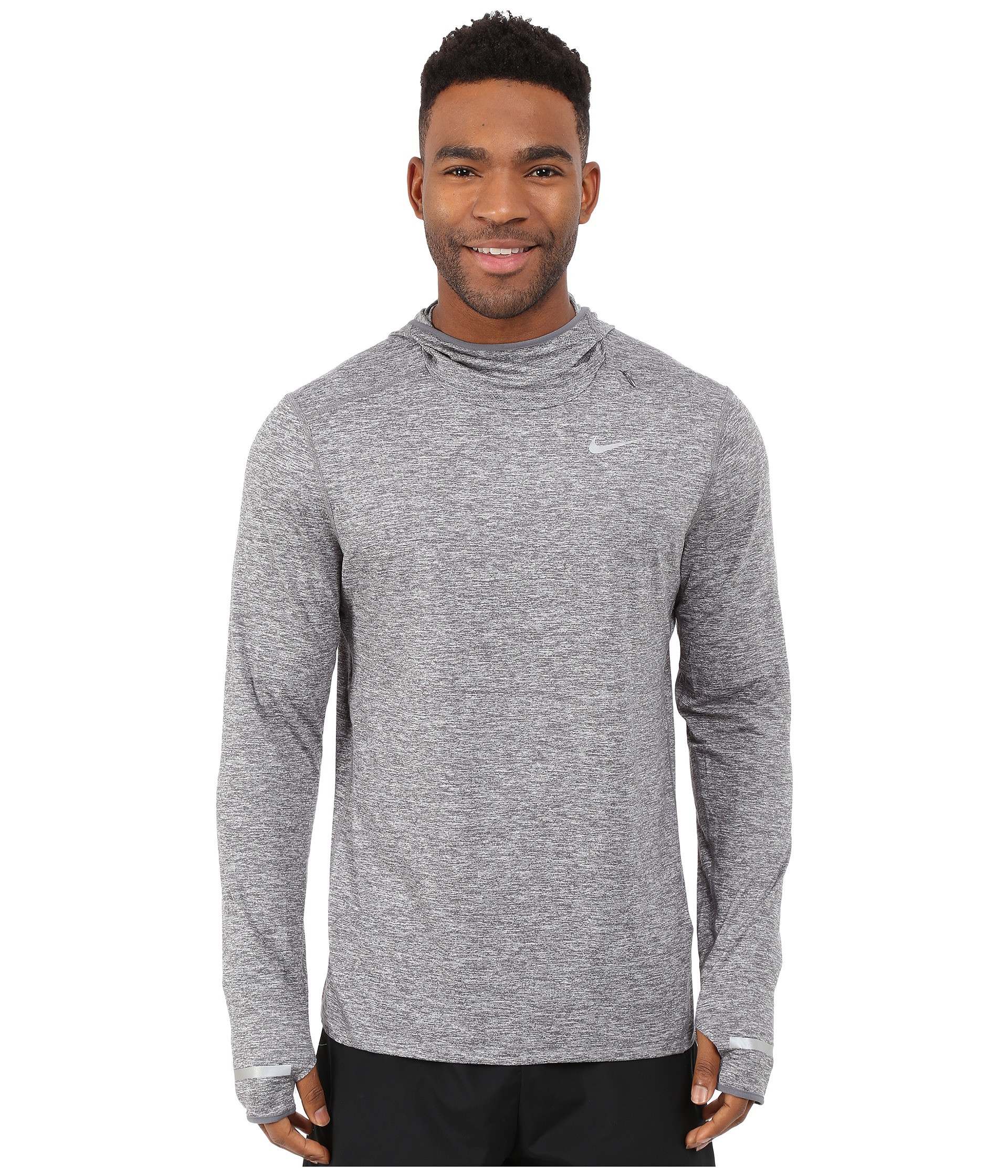 94c8181a9546 Lyst - Nike Dri-fit™ Element Hoodie in Gray for Men