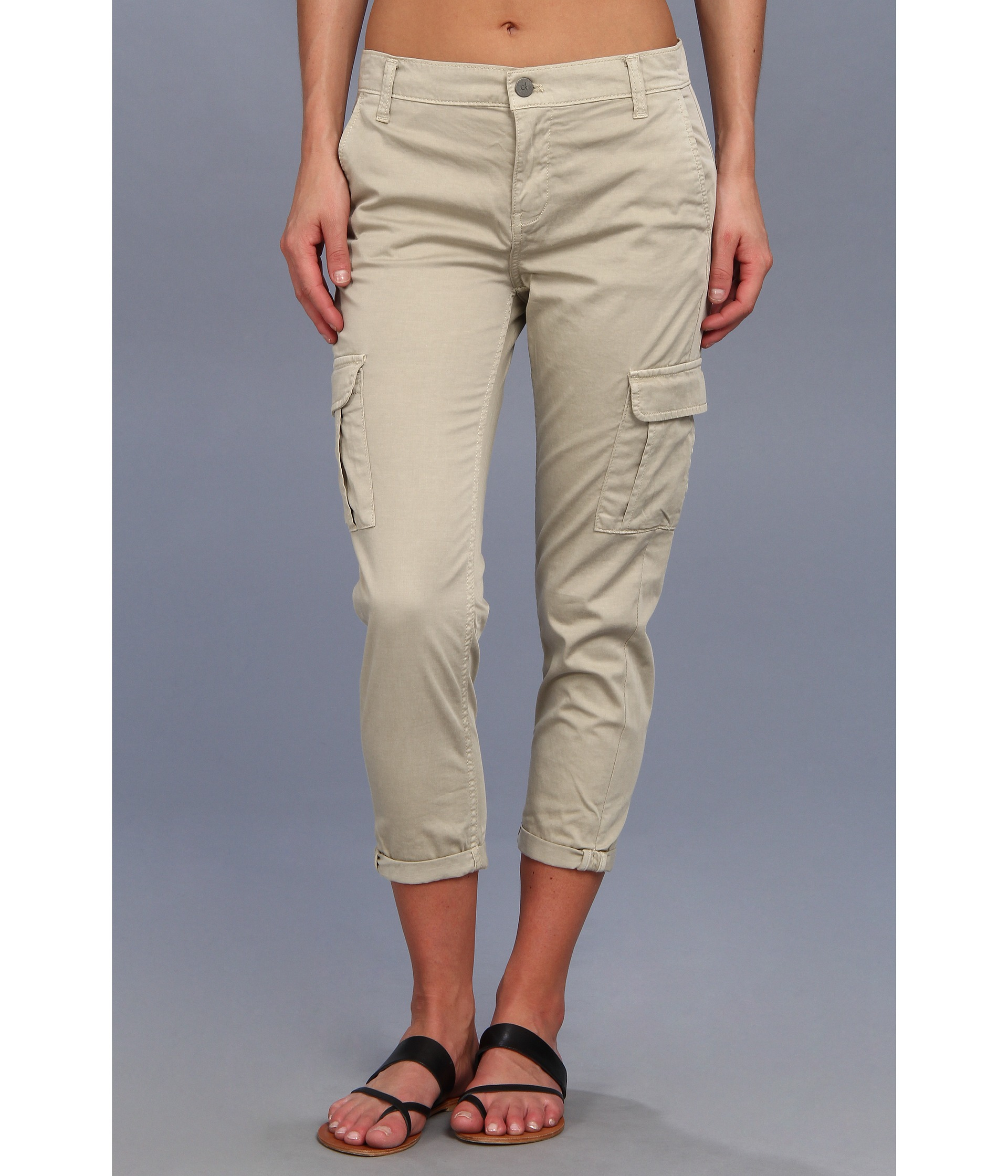 Fantastic Calvin Klein Drawstring Cargo Pants In Multicolor Chicory  Save 50