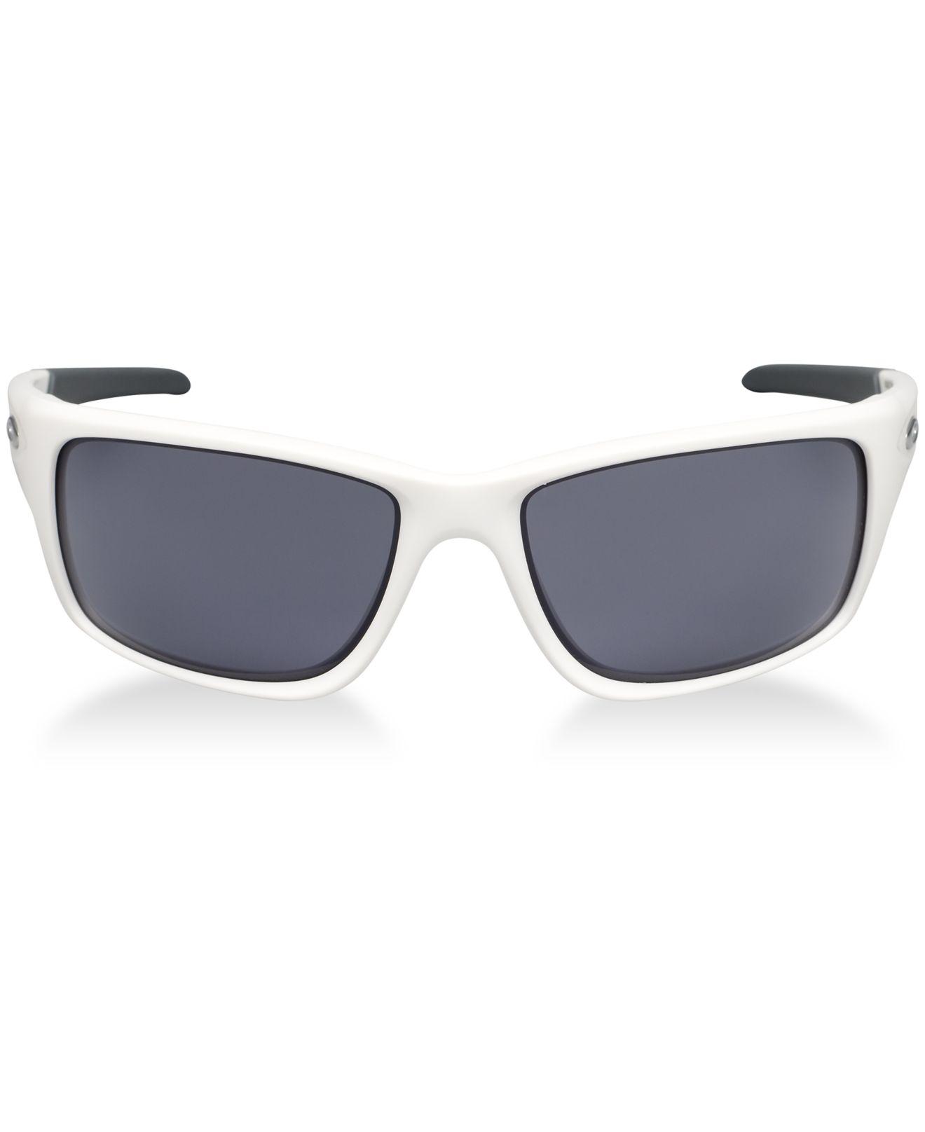 white oakley sunglasses for men wqkk  Gallery