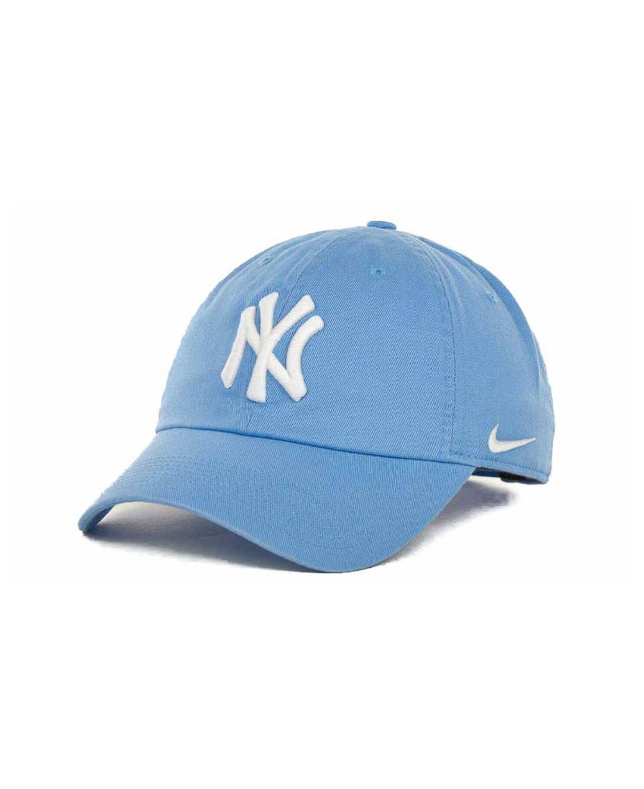 Lyst - Nike Women s New York Yankees Stadium Cap in Blue 0fe9acca9