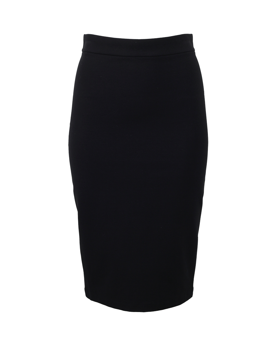 givenchy back zip pencil skirt in black lyst