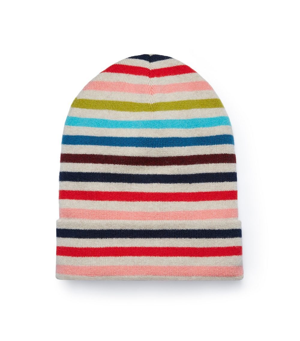 f94d27895cf Lyst - Tory Burch Cashmere Multi-color Hat