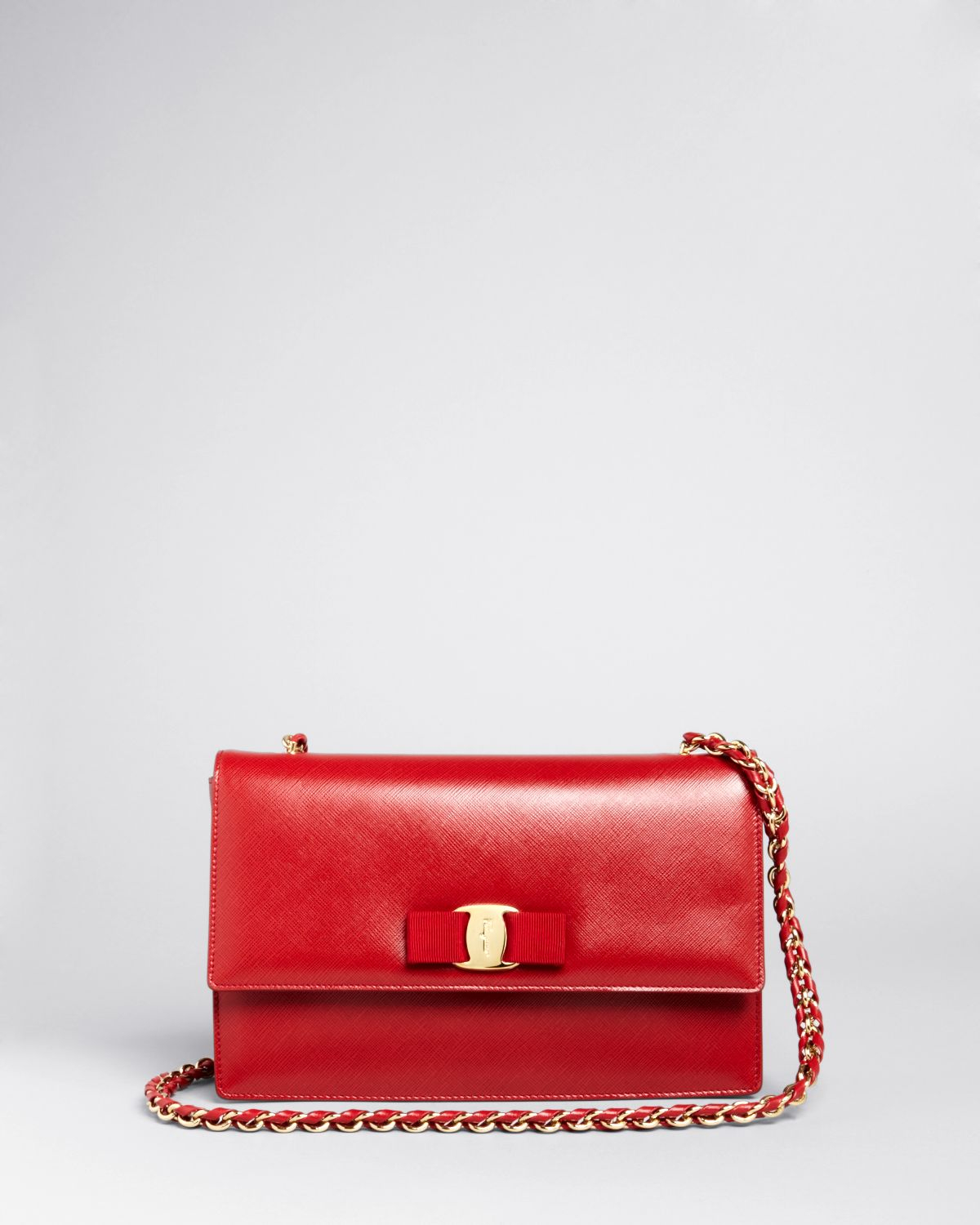 Ferragamo Shoulder Bag - Ginny in Red | Lyst