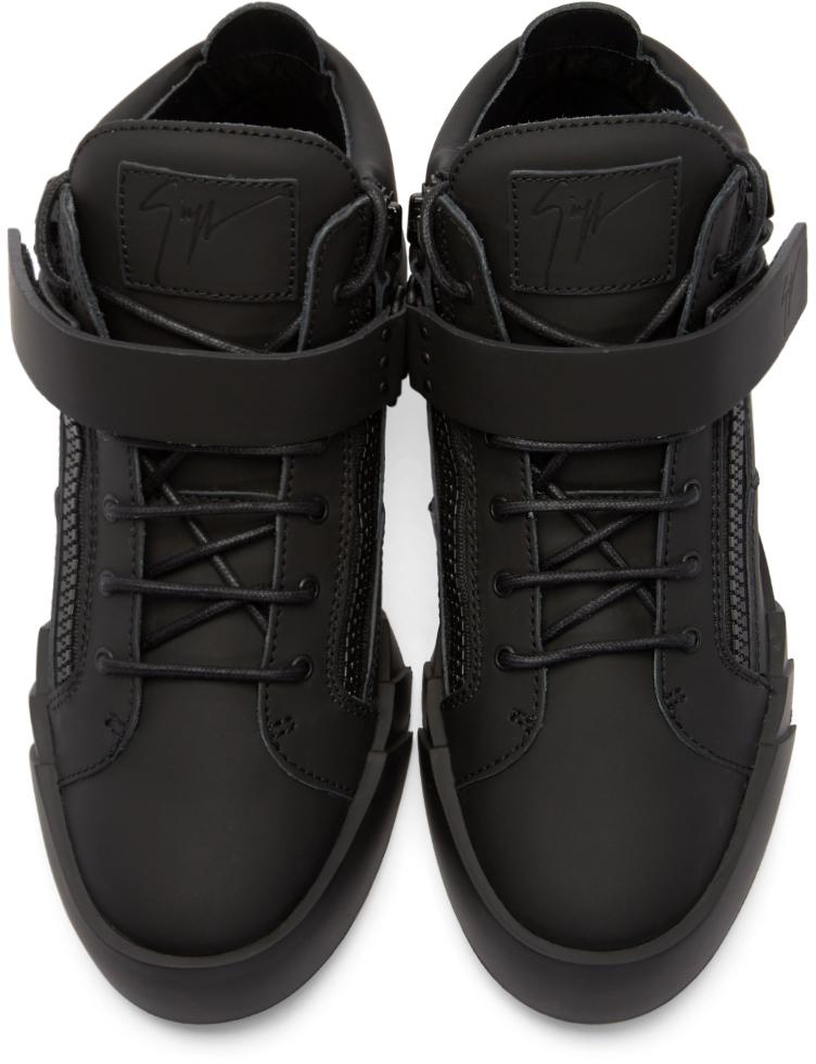 aba15565c6cc spain air jordan 11 prom night 378037 005 760e7 2560c  switzerland lyst  giuseppe zanotti black leather matte high top sneakers in ae127 9e9a9