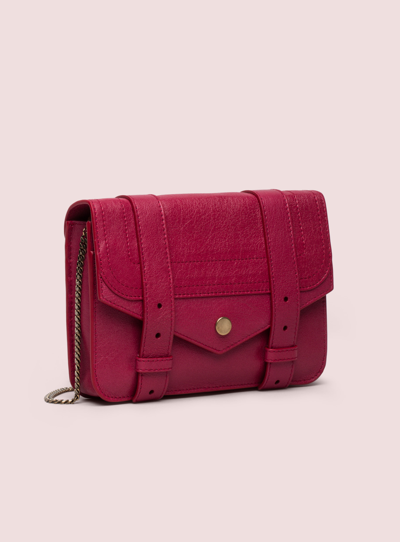 Proenza schouler Ps1 Large Chain Wallet in Red   Lyst
