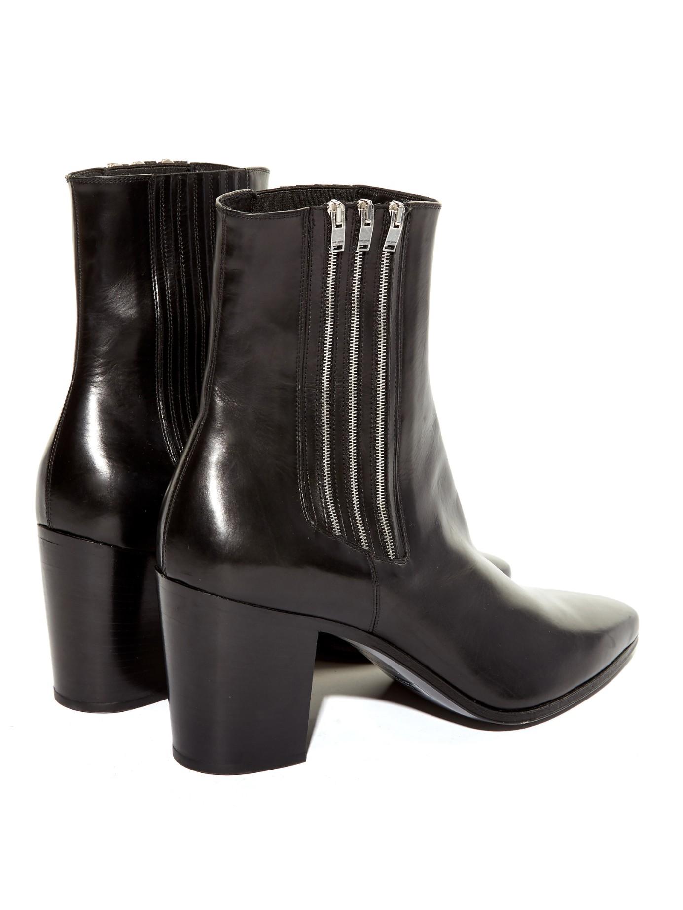 Saint Laurent Zipped ankle boots EJ6hW0Ejo3