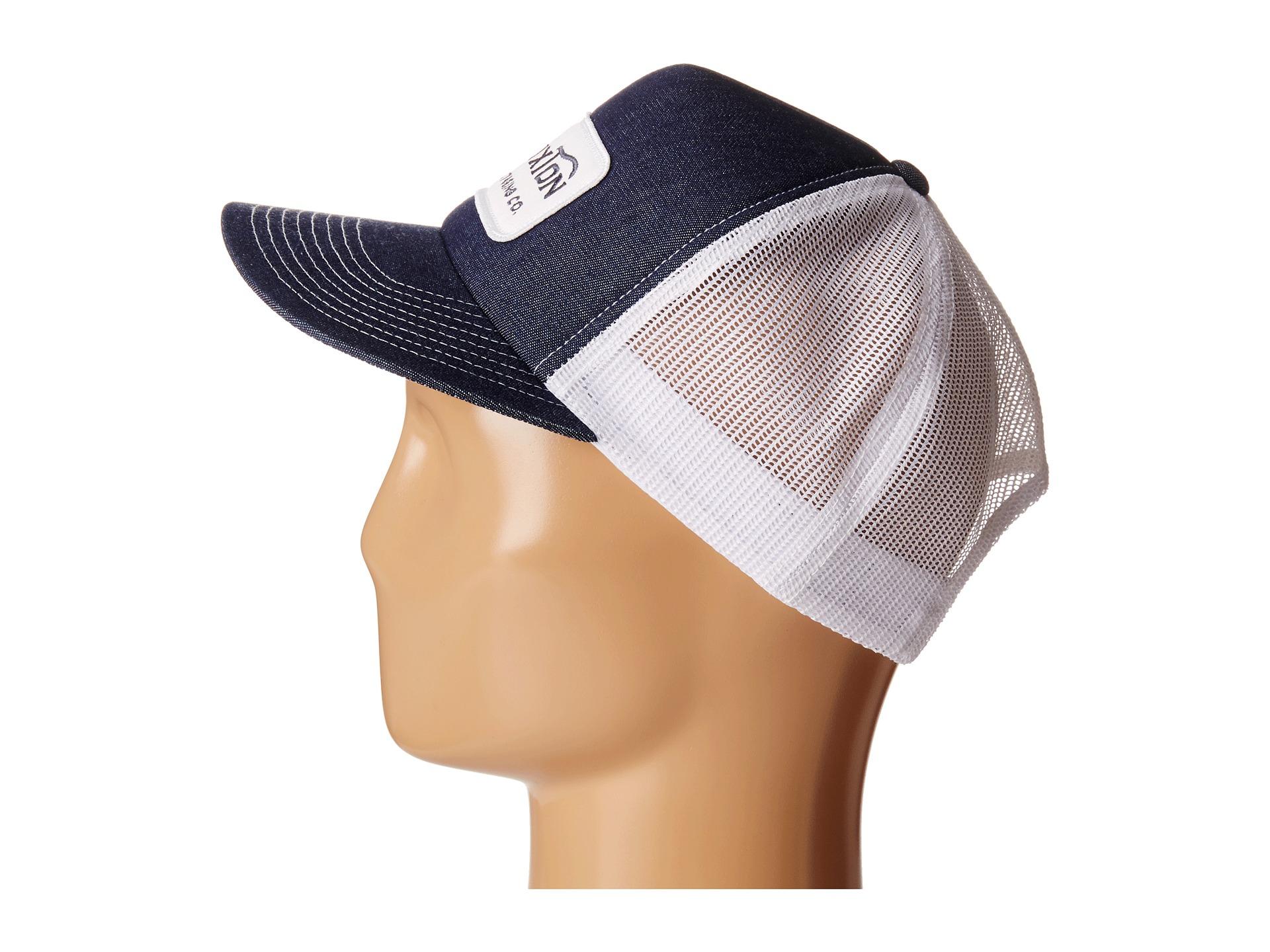 27c65e573e4fd Brixton Grade Mesh Cap in Blue for Men - Lyst