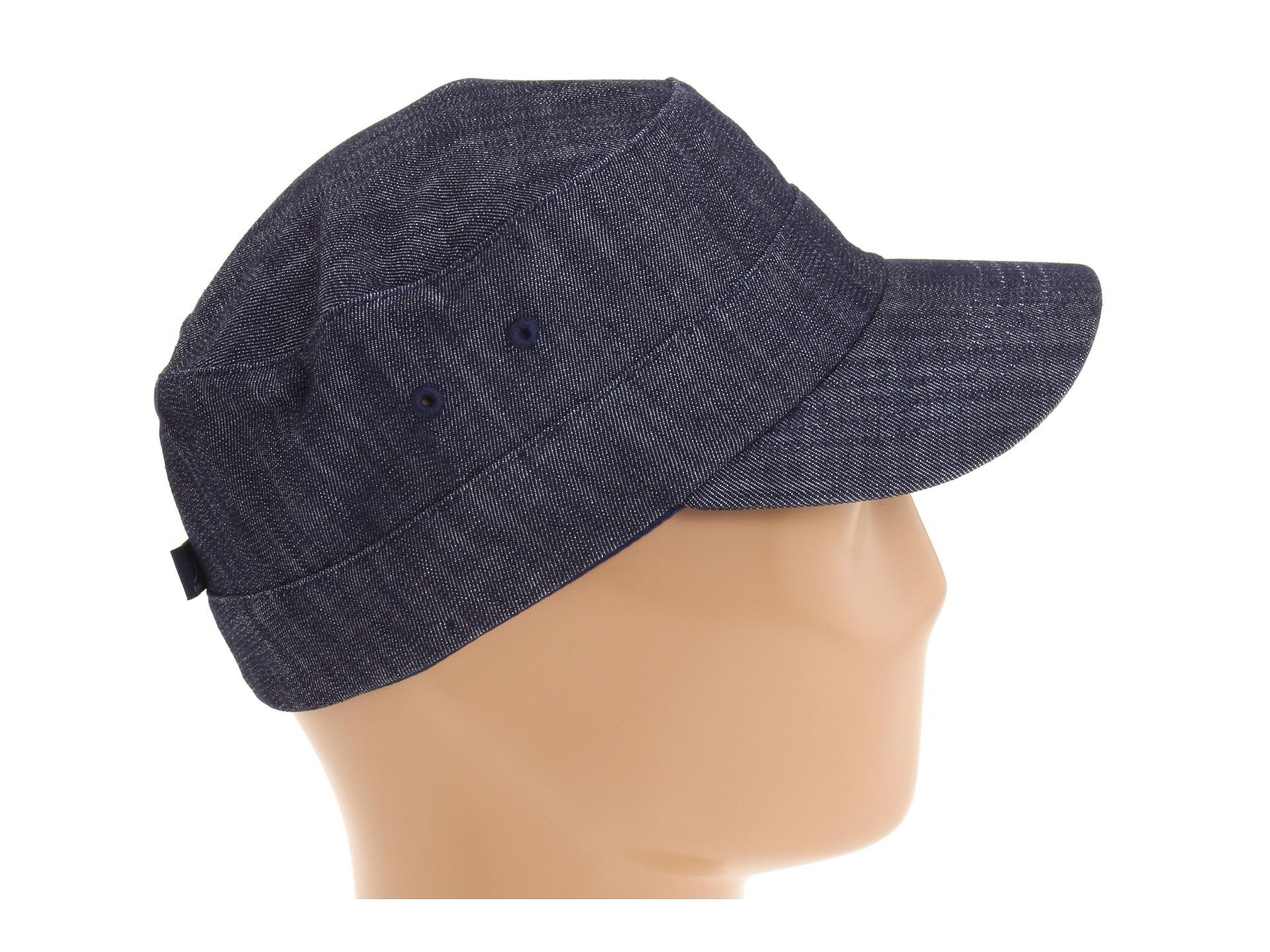 76eff38e530 Lyst - Kangol Denim Army Cap in Blue for Men