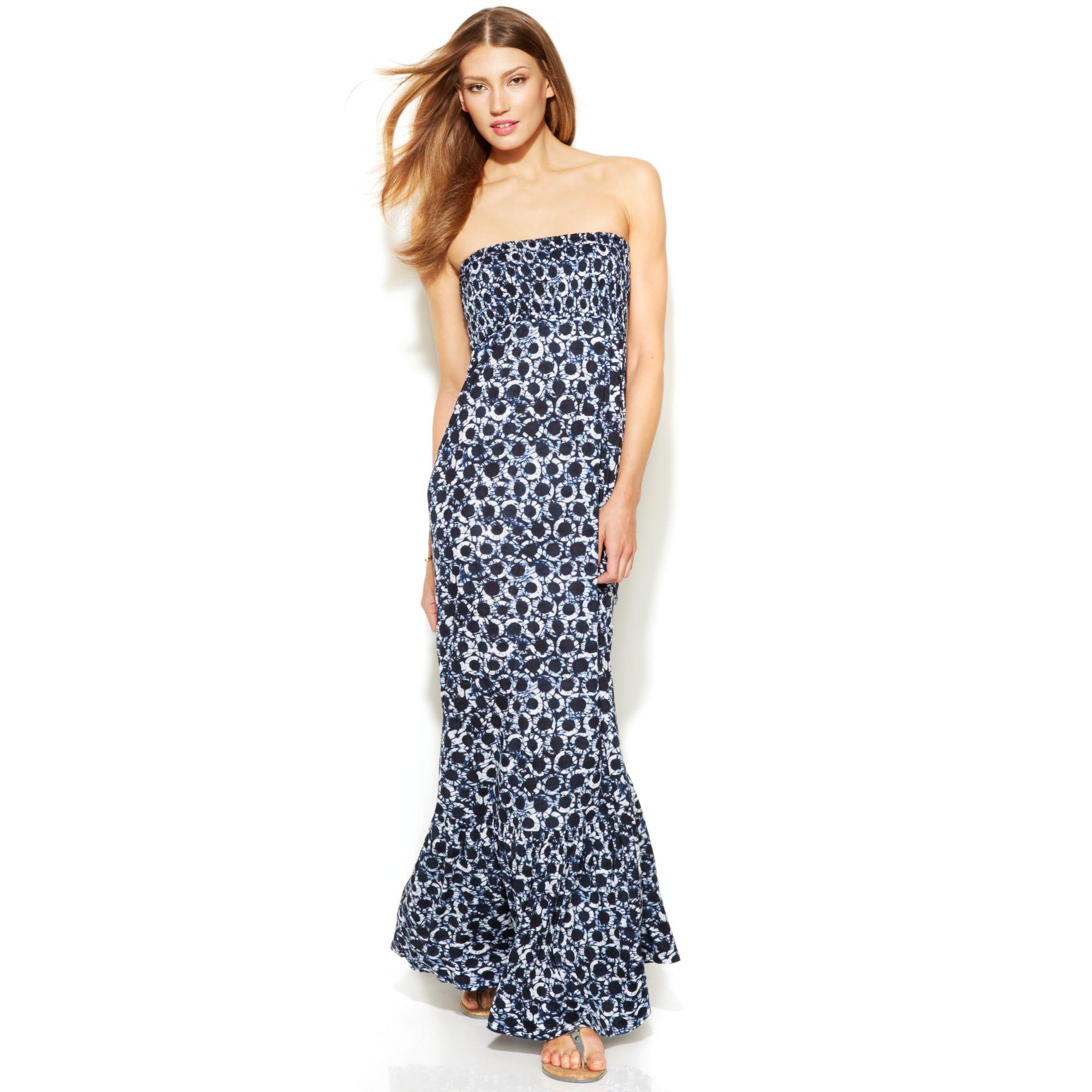 11cc73bf263b Strapless Print Maxi Dress | Best Dresses 2019