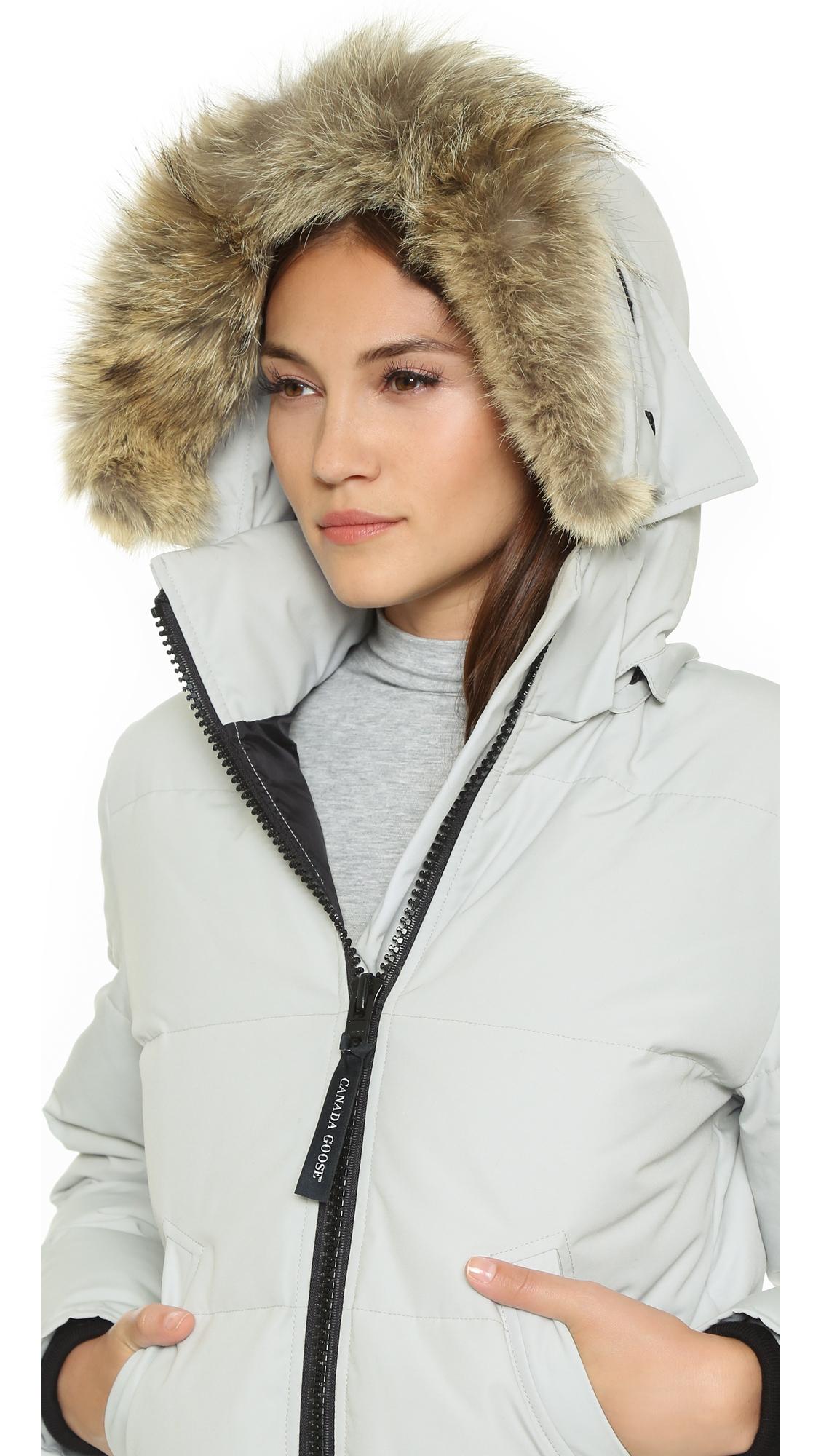 Canada Goose victoria parka sale price - Canada goose Mystique Parka - Silverbirch in Gray (Silverbirch) | Lyst