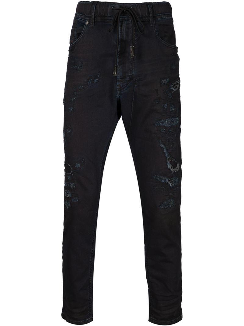 Narrot Jogg jeans - Black Diesel Buy Sale Online pf54P