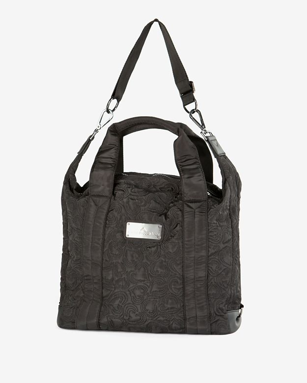 Adidas By Stella Mccartney Gym Bag Tote Black In