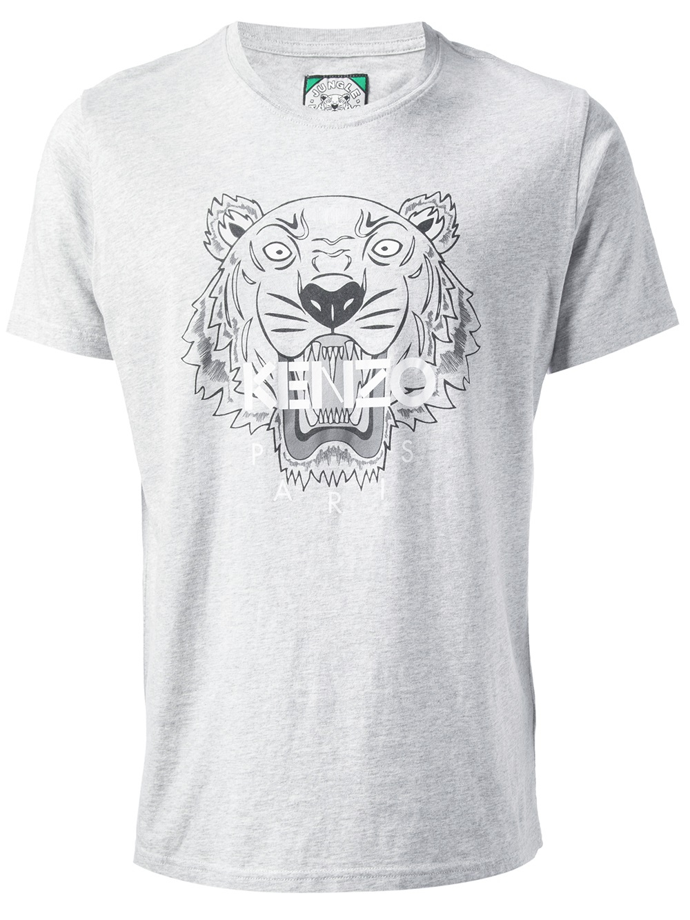 265b812a85a Lyst - KENZO Tiger Print T-shirt in Gray for Men
