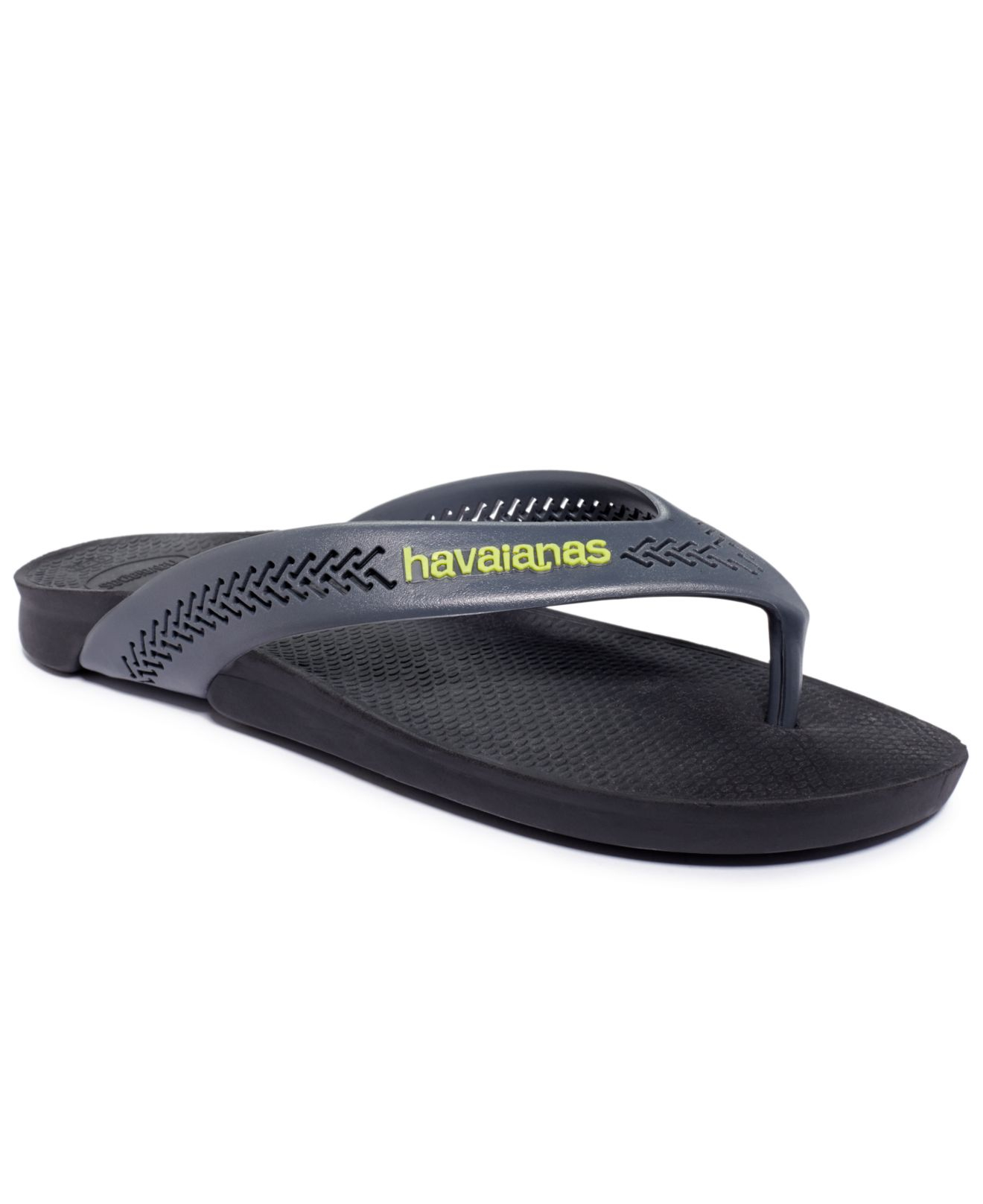 c86dd2fe948 Lyst - Havaianas Wide Sandals in Black for Men