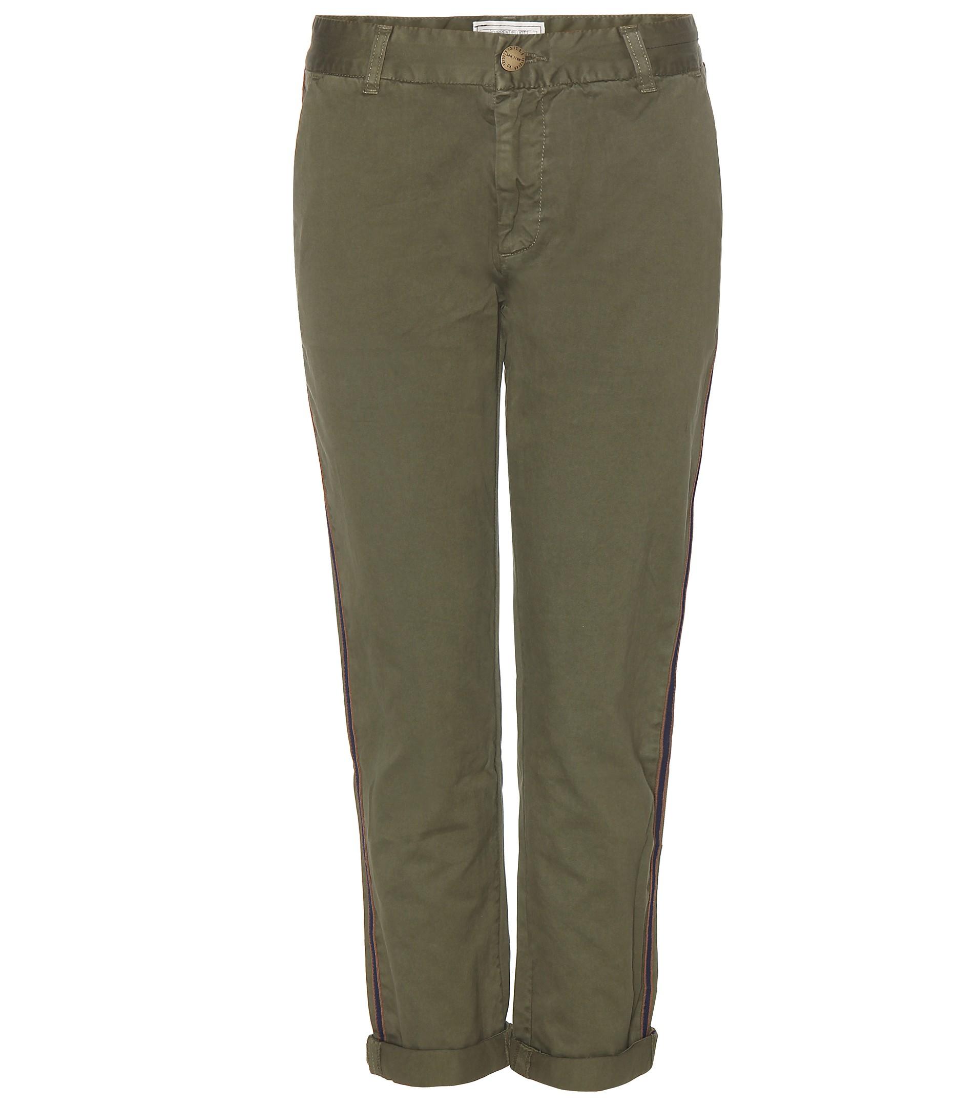 The Buddy cropped jeans - Green Current Elliott FGiOAs