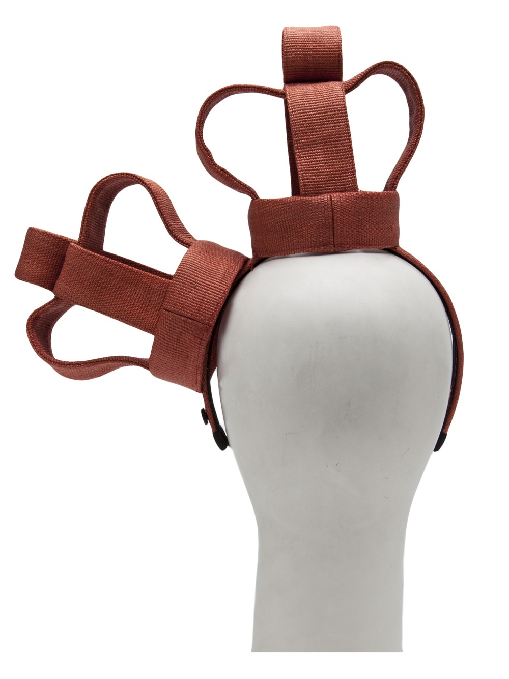 mich dulce top crown headband in red lyst