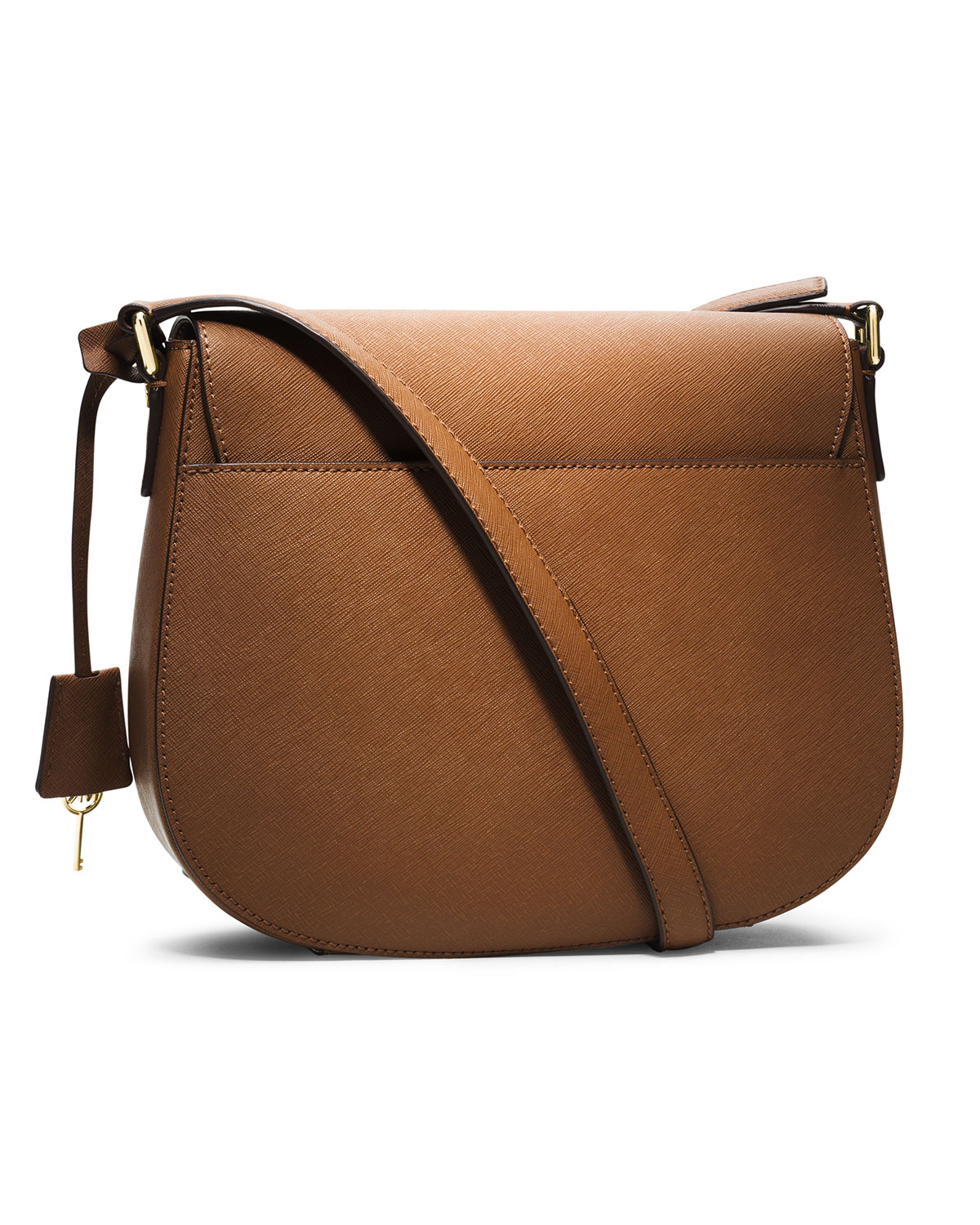 Lyst - MICHAEL Michael Kors Large Hamilton Messenger in Brown 0caef44c02a