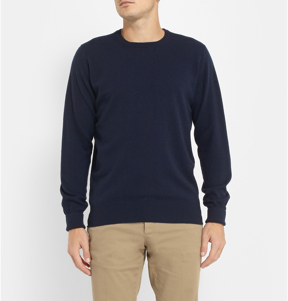 Slim-fit Cashmere Sweater William Lockie Cheap Choice oy1WjOFIj
