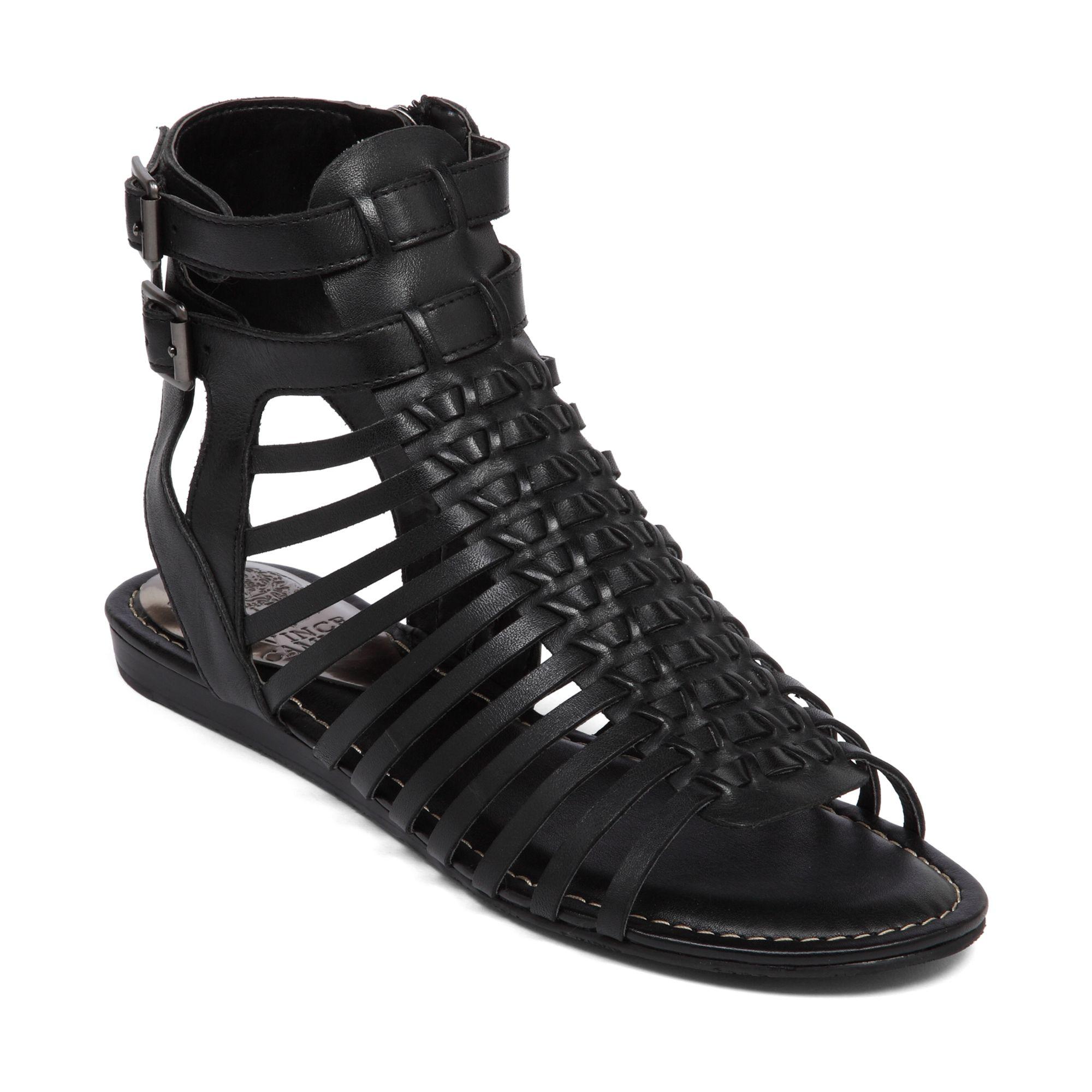 Vince Camuto Kensil Gladiator Sandals In Black Lyst